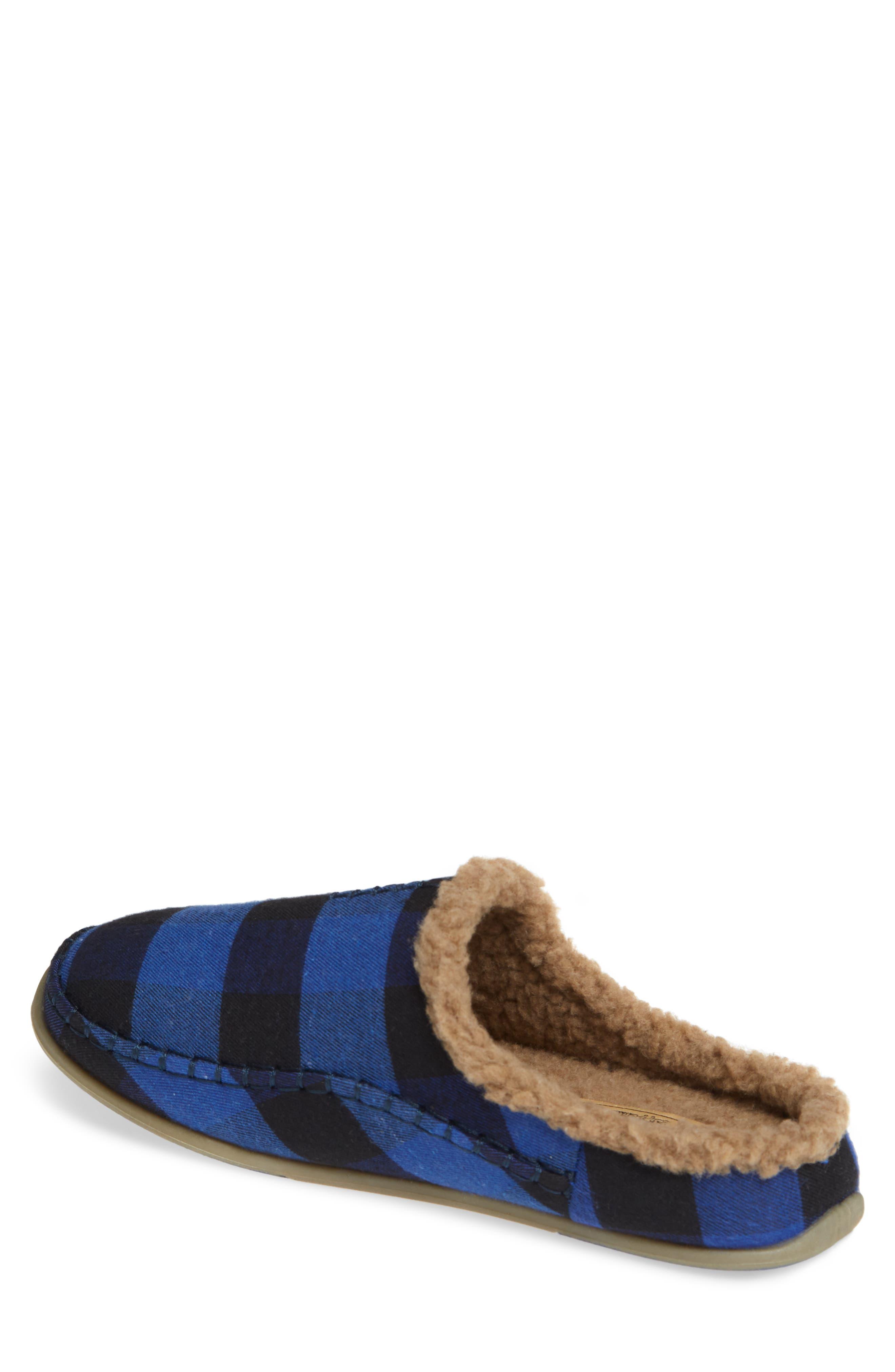 Nordic Slipper,                             Alternate thumbnail 2, color,                             BLUE / BLACK