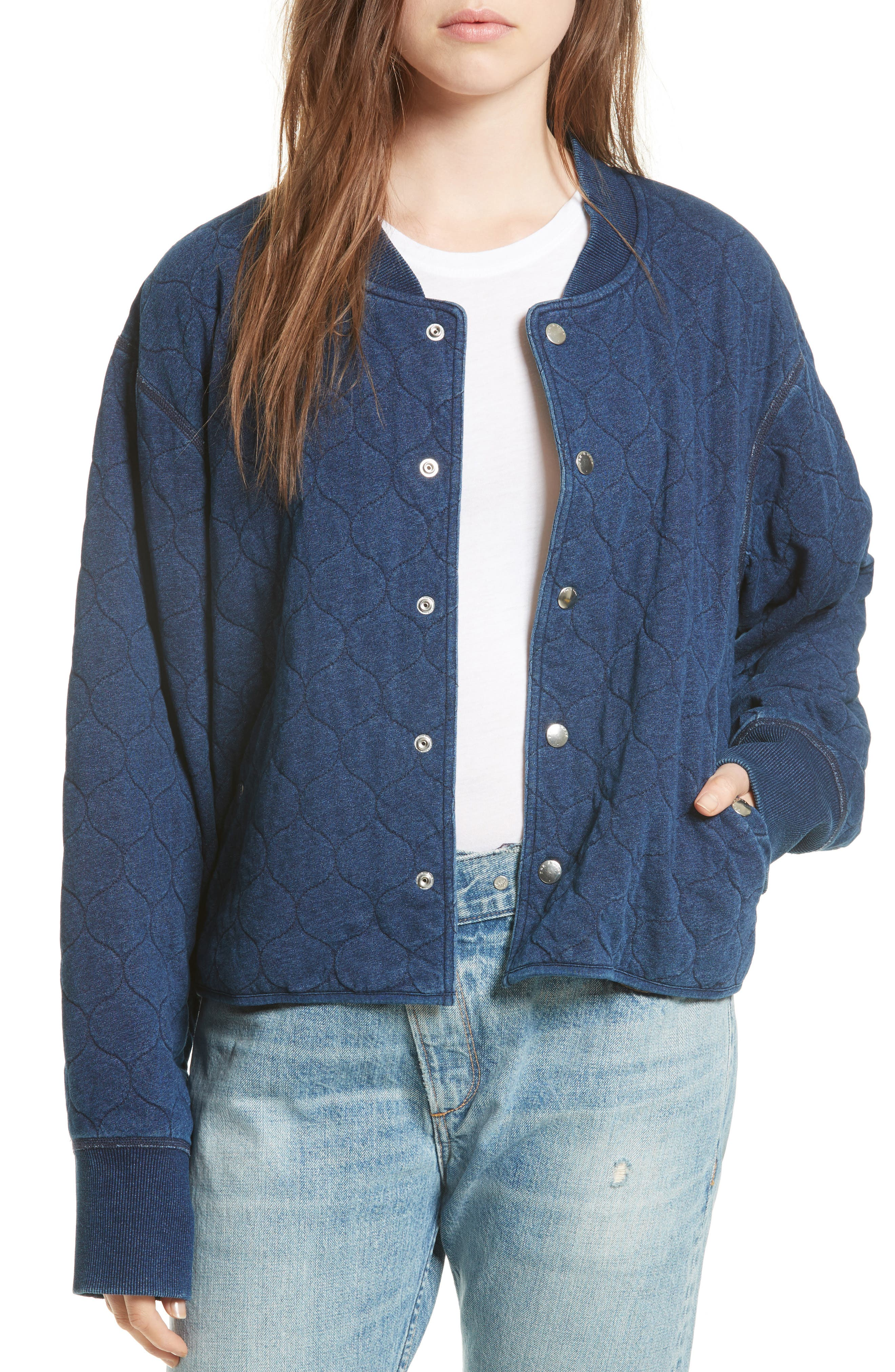 Quilted Liner Jacket,                         Main,                         color, 470