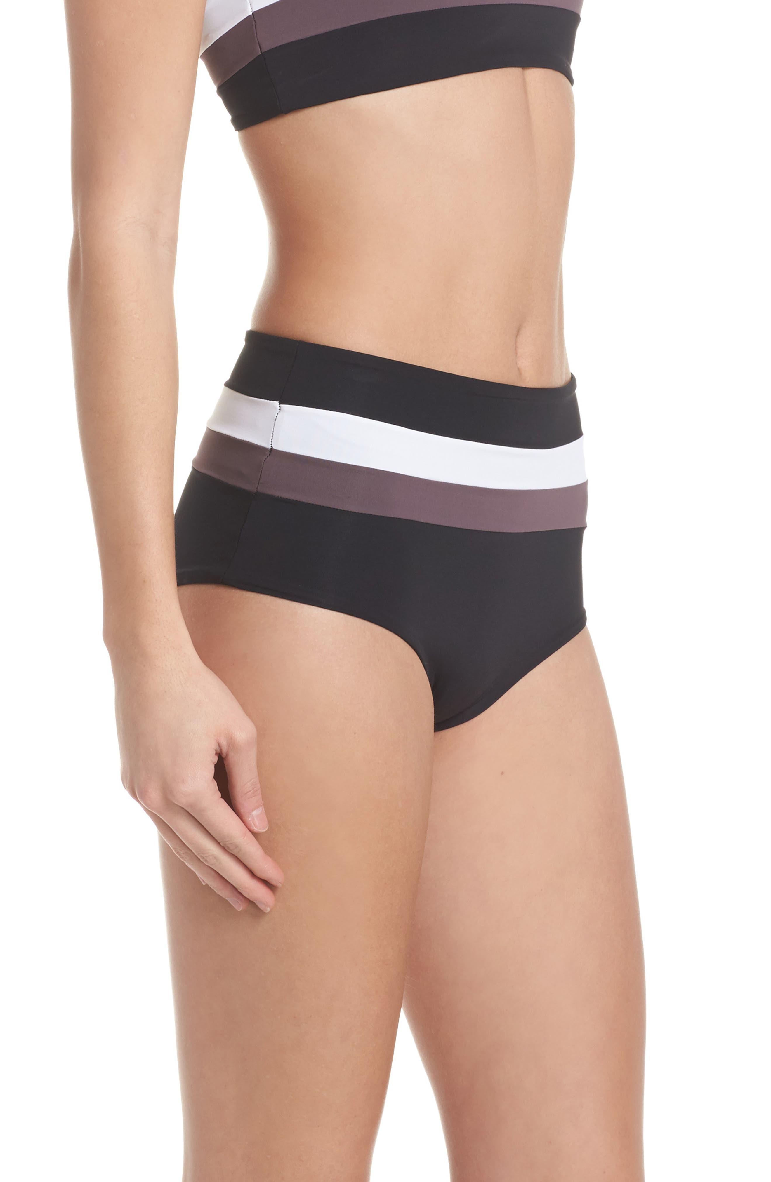 Portia Reversible Colorblock Bikini Bottoms,                             Alternate thumbnail 10, color,