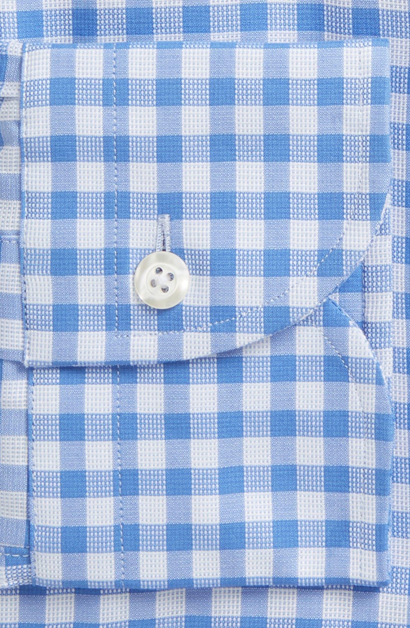 Slim Fit Check Dress Shirt,                             Alternate thumbnail 2, color,                             400