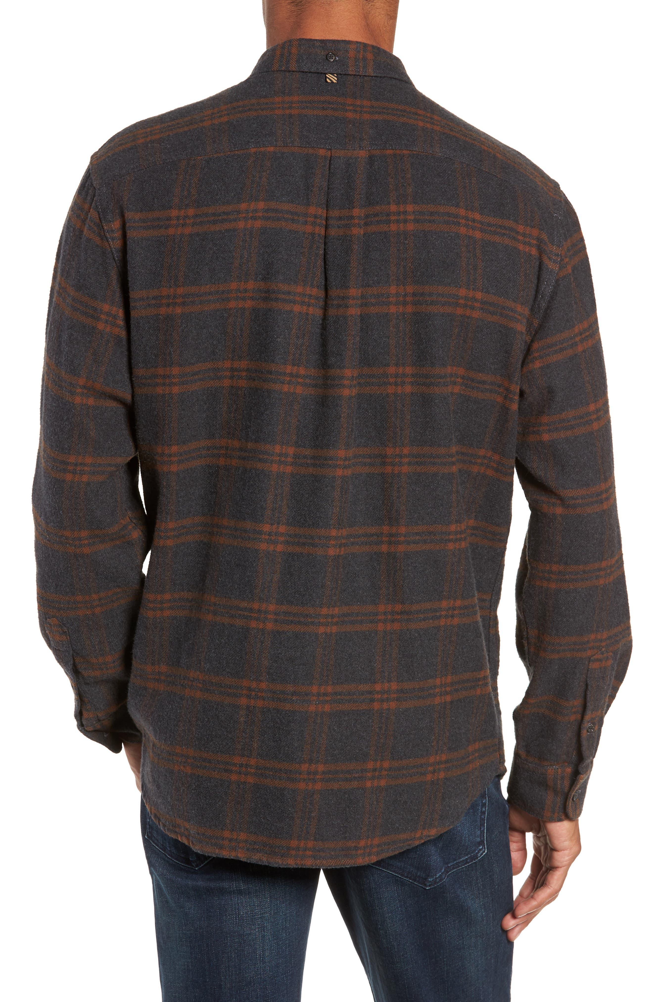 BILLY REID,                             Plaid Cotton Flannel Shirt,                             Alternate thumbnail 2, color,                             020