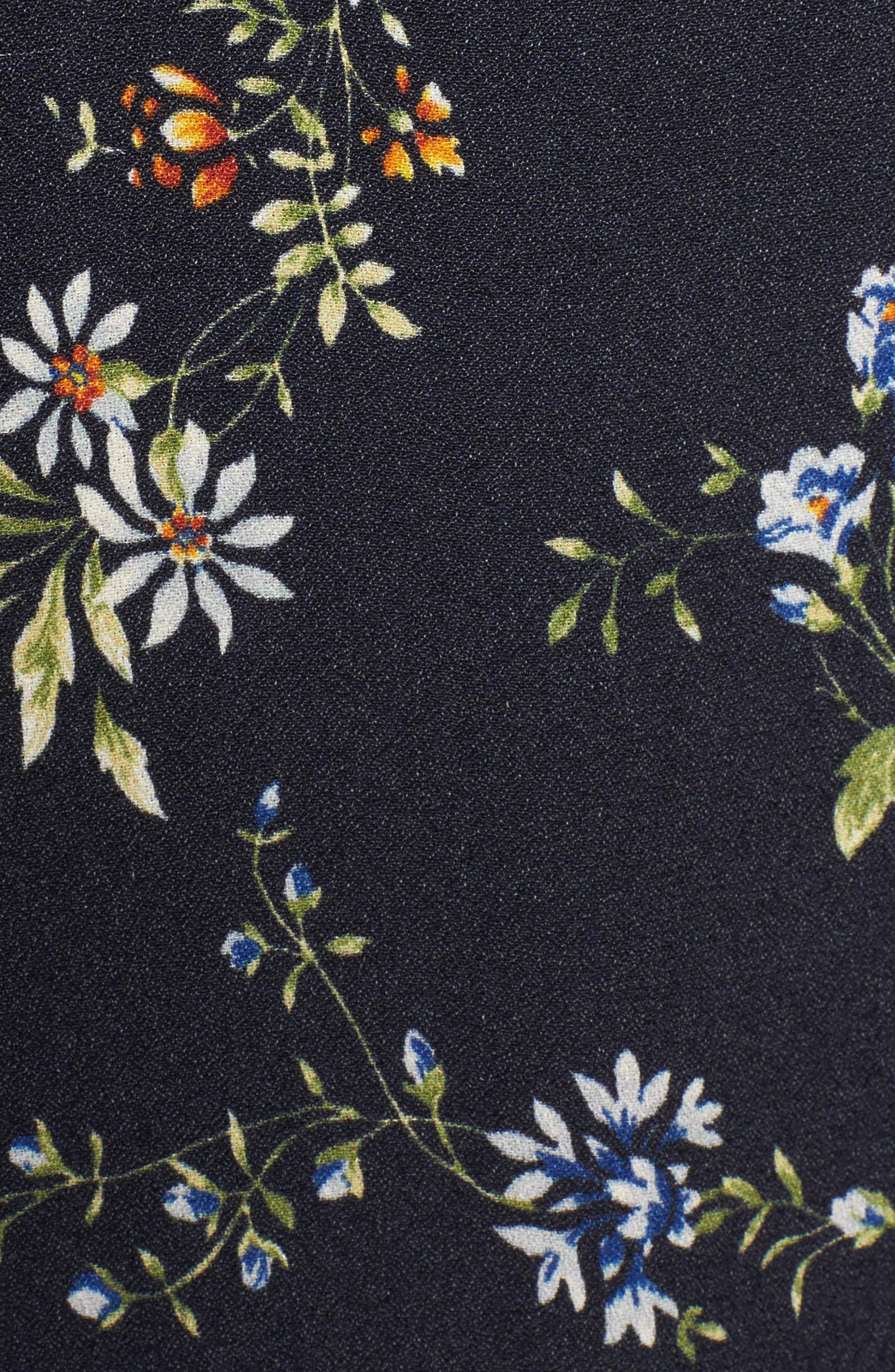 AFRM,                             Monroe Wrap Dress,                             Alternate thumbnail 5, color,                             001