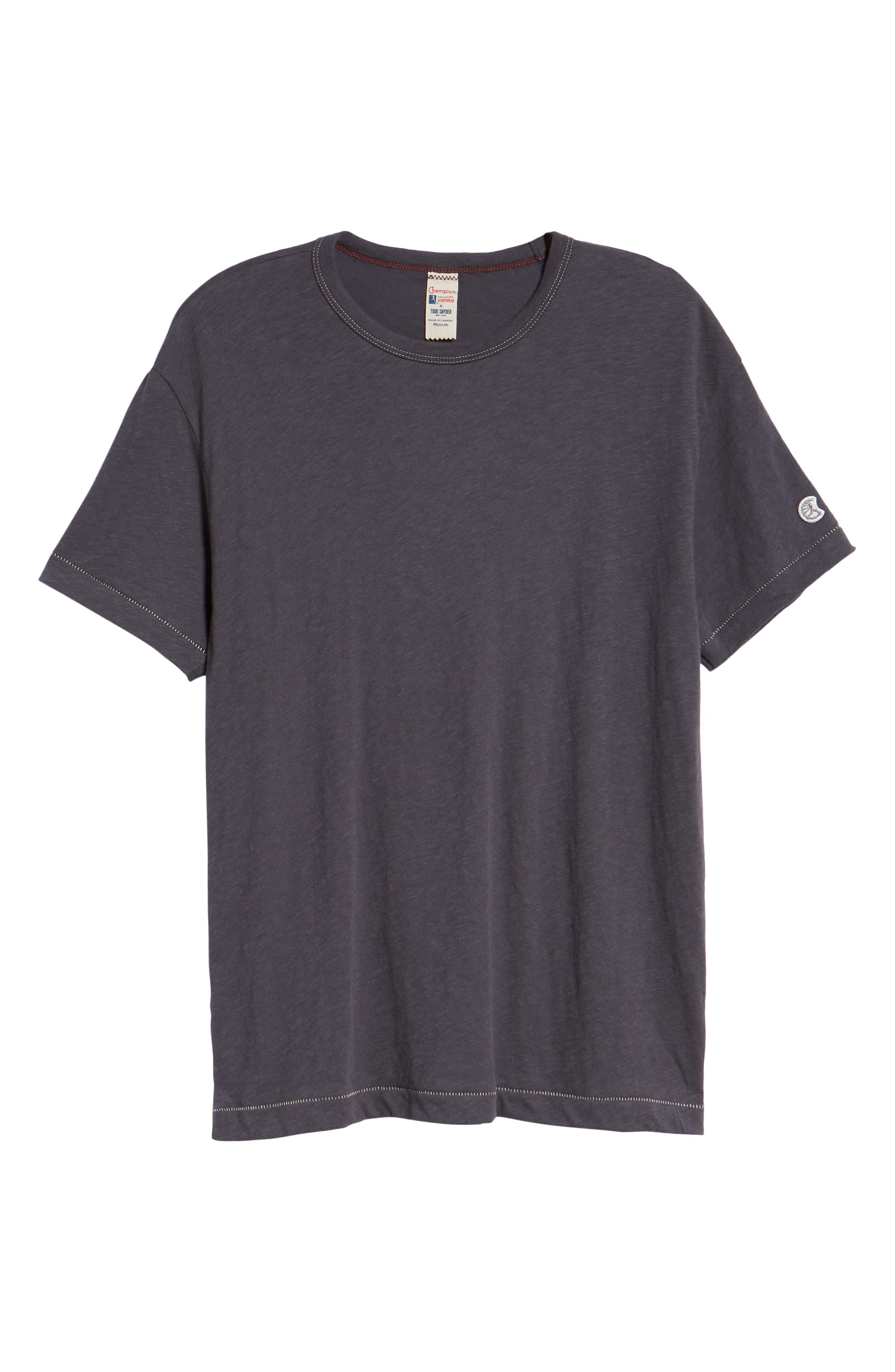 TODD SNYDER,                             + Champion Crewneck T-Shirt,                             Alternate thumbnail 6, color,                             060