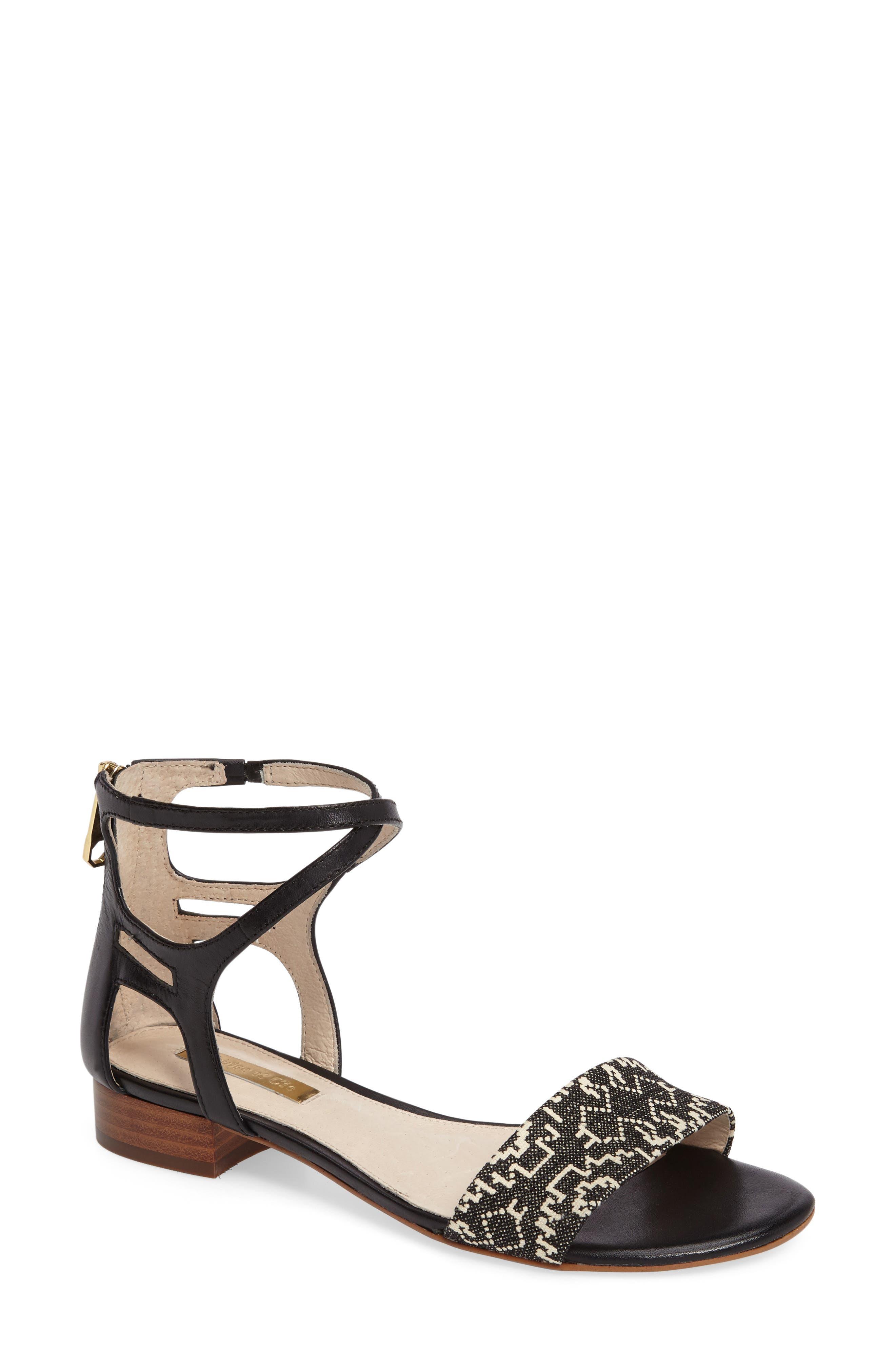 Adley Ankle Strap Sandal,                         Main,                         color, 002