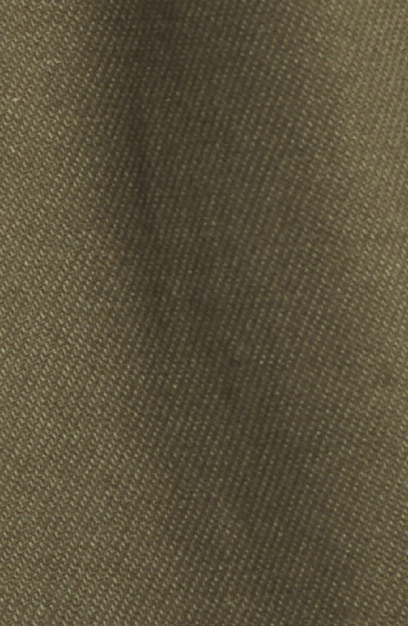 Stretch Cotton Trucker Jacket,                             Alternate thumbnail 6, color,                             301