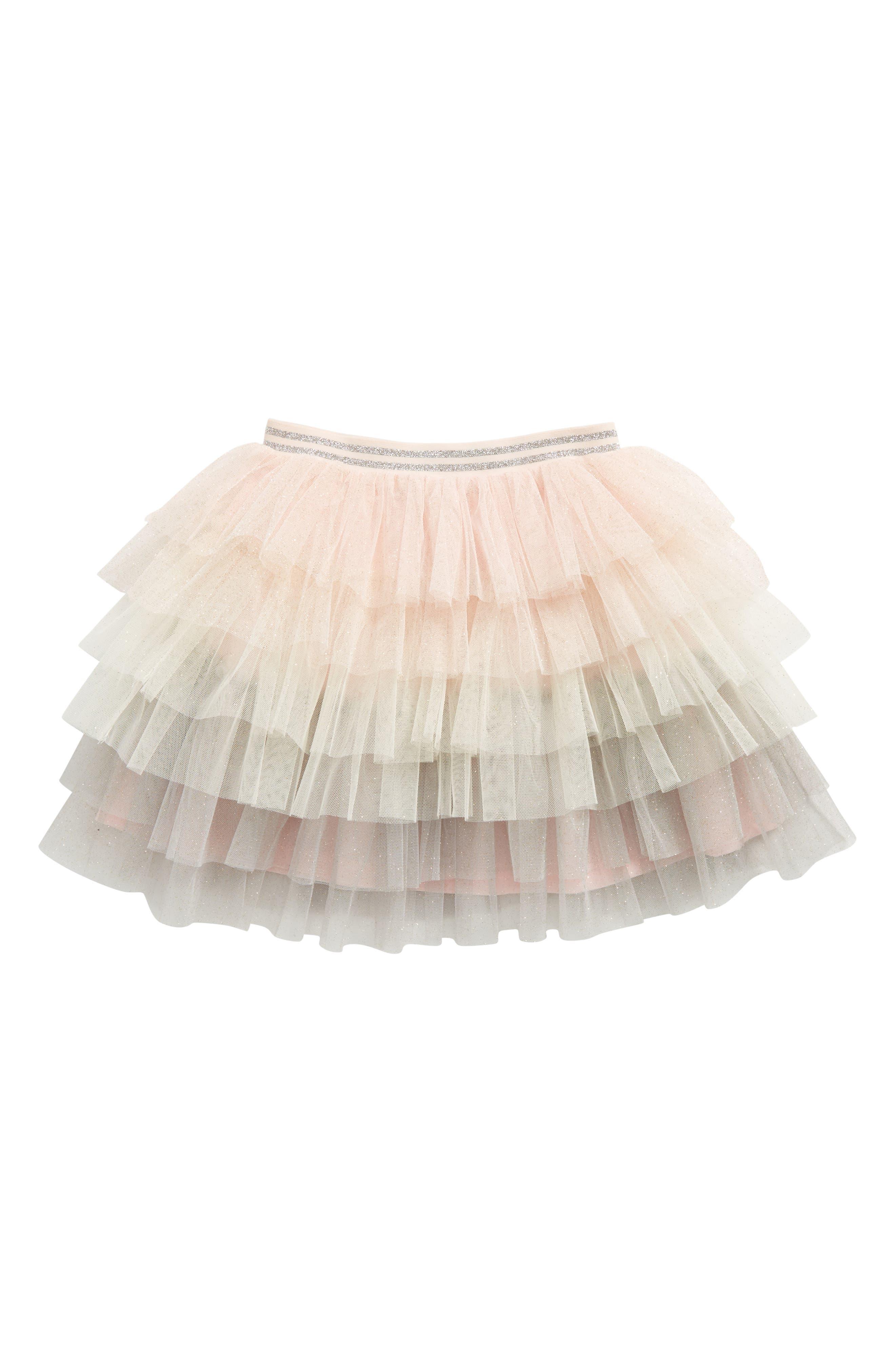 Tiered Tutu Skirt,                             Main thumbnail 1, color,                             651