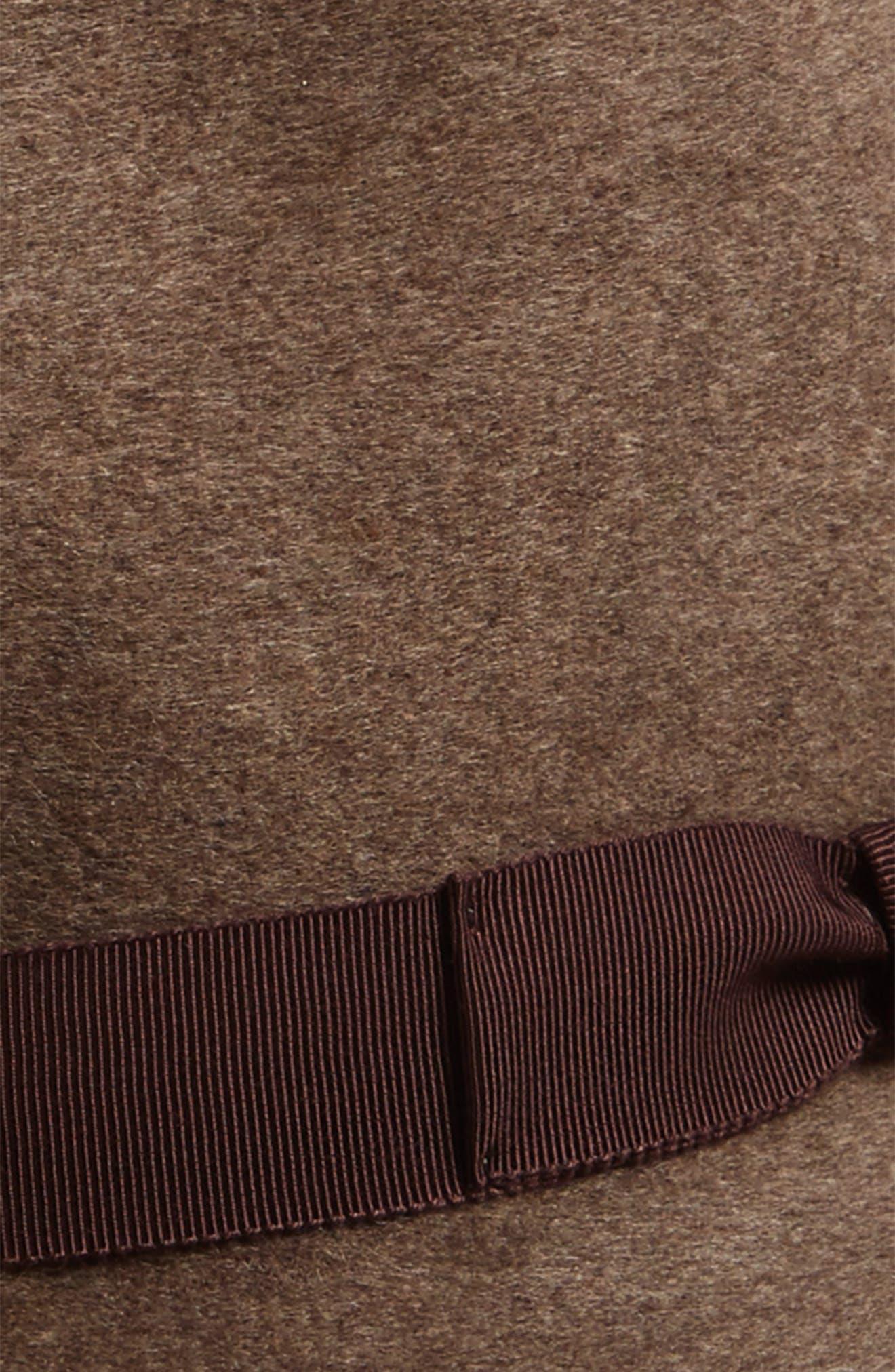 Criss Wool Fedora,                             Alternate thumbnail 2, color,