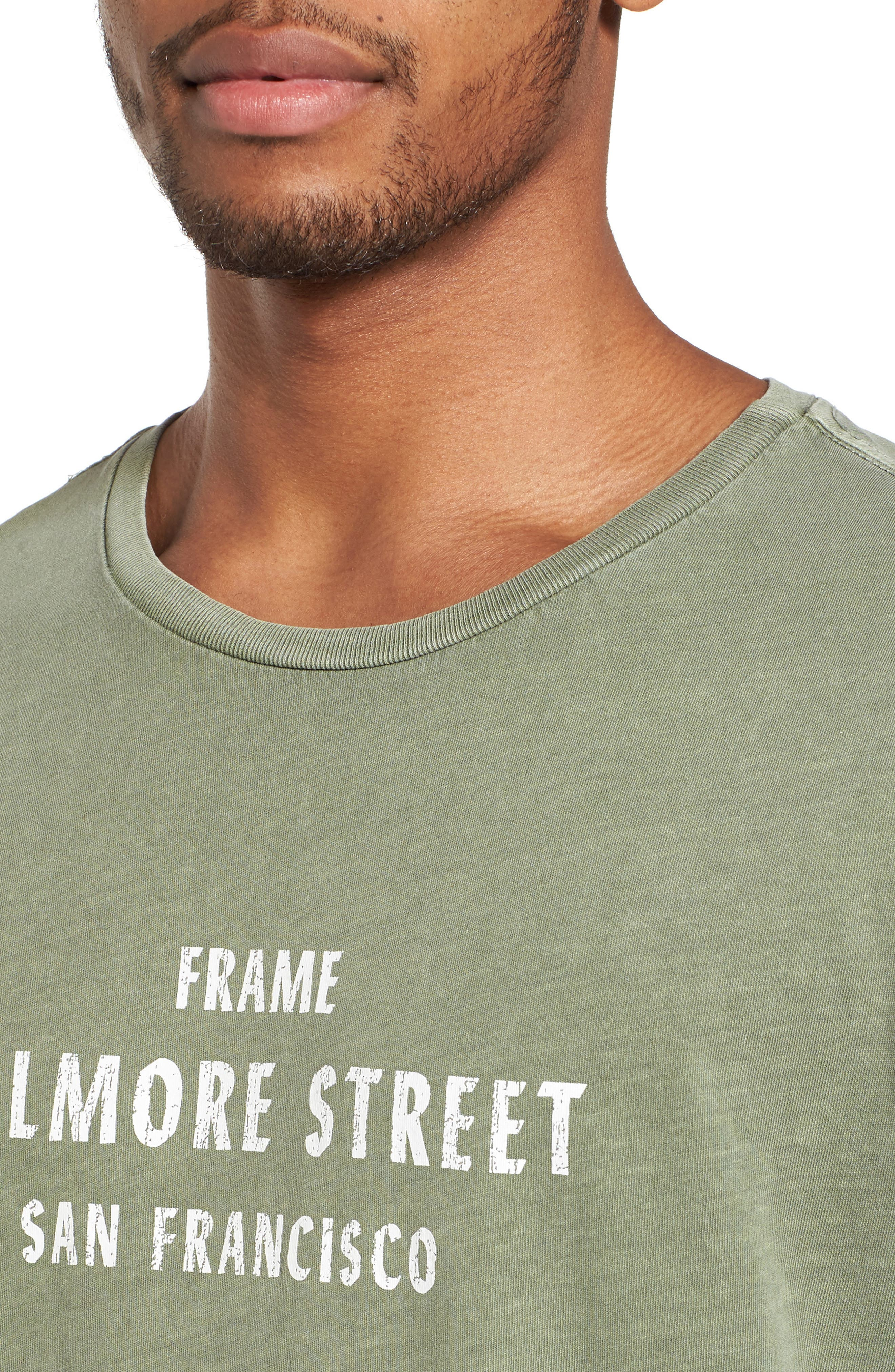 Fillmore Street Vintage Graphic T-Shirt,                             Alternate thumbnail 4, color,                             301