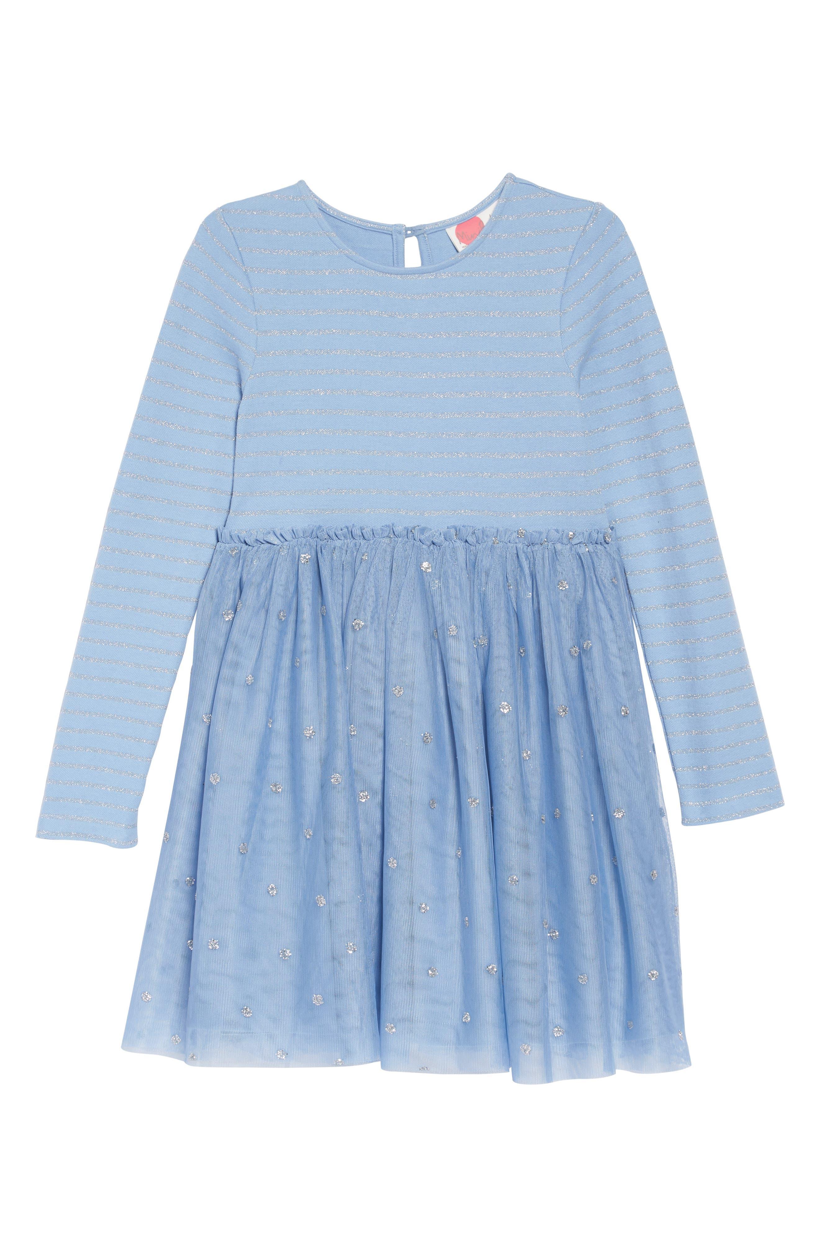 Girls Mini Boden Tulle Frill Dress