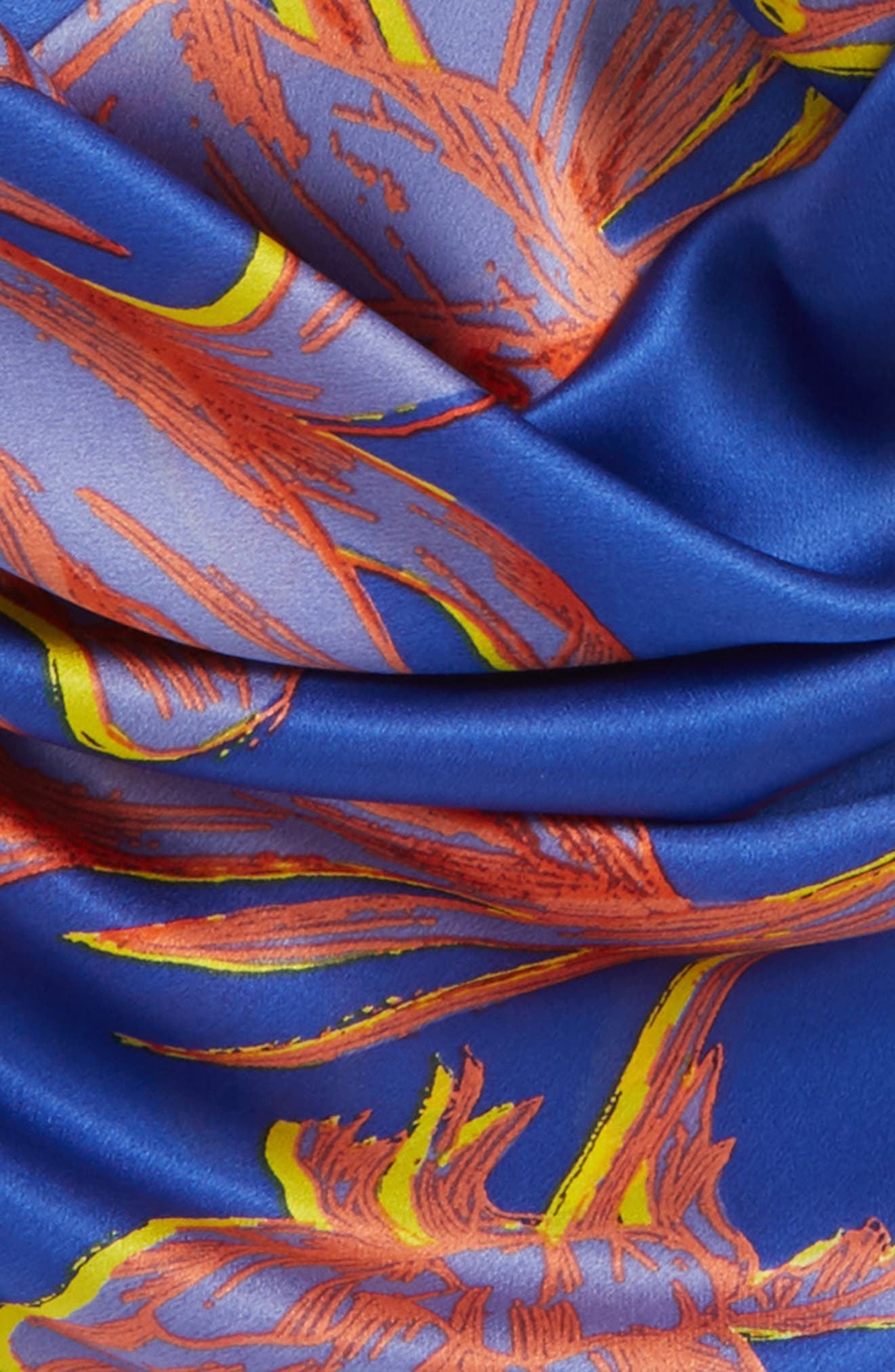 Print Silk Scarf,                             Alternate thumbnail 31, color,