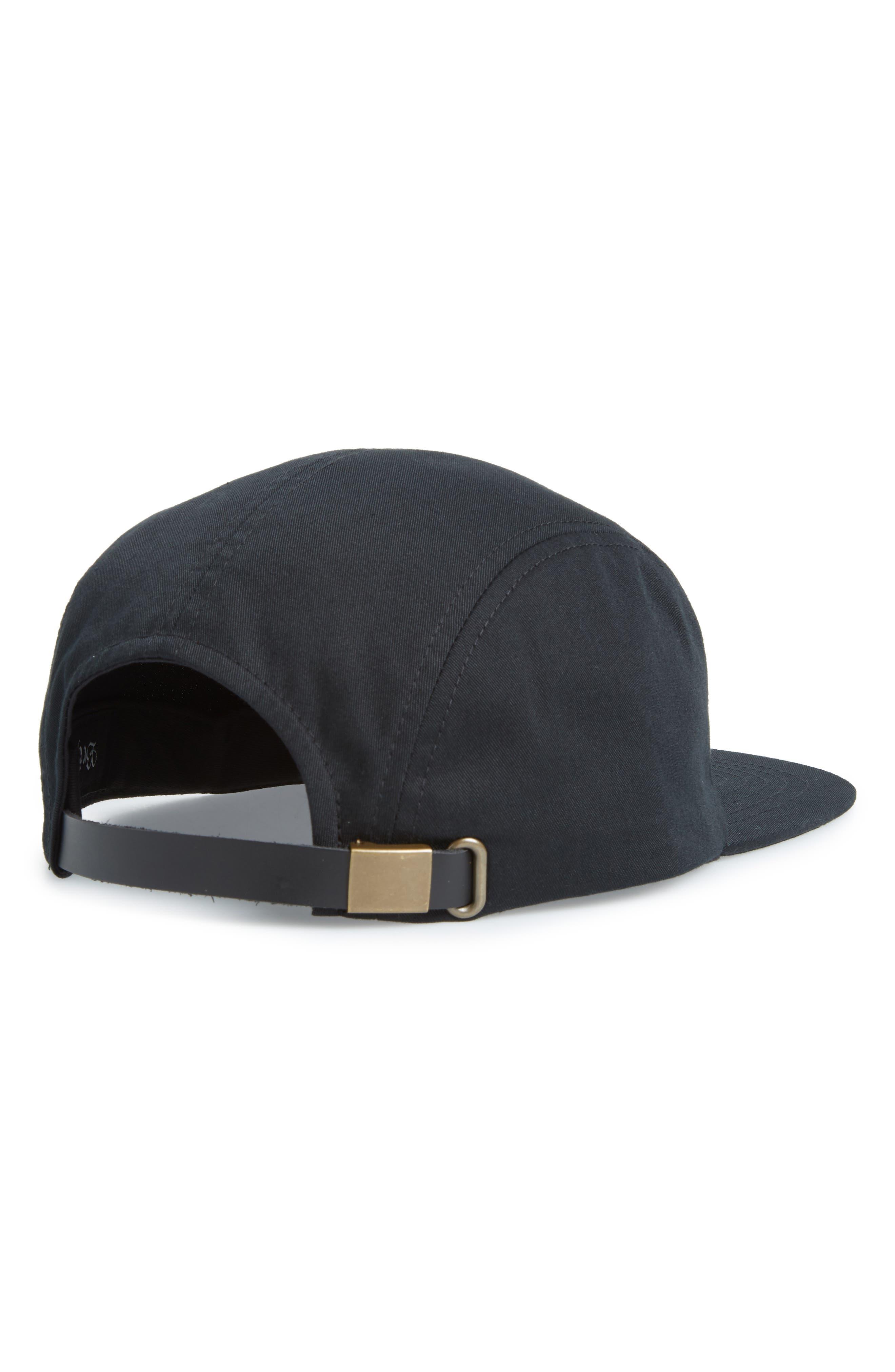 Stowell Baseball Cap,                             Alternate thumbnail 2, color,                             BLACK