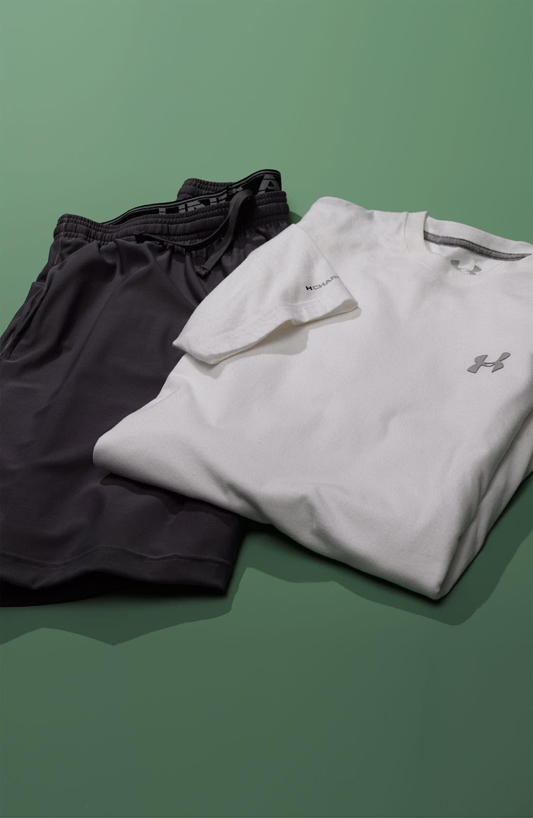 'Micro' HeatGear<sup>®</sup> Knit Shorts,                             Alternate thumbnail 2, color,                             001