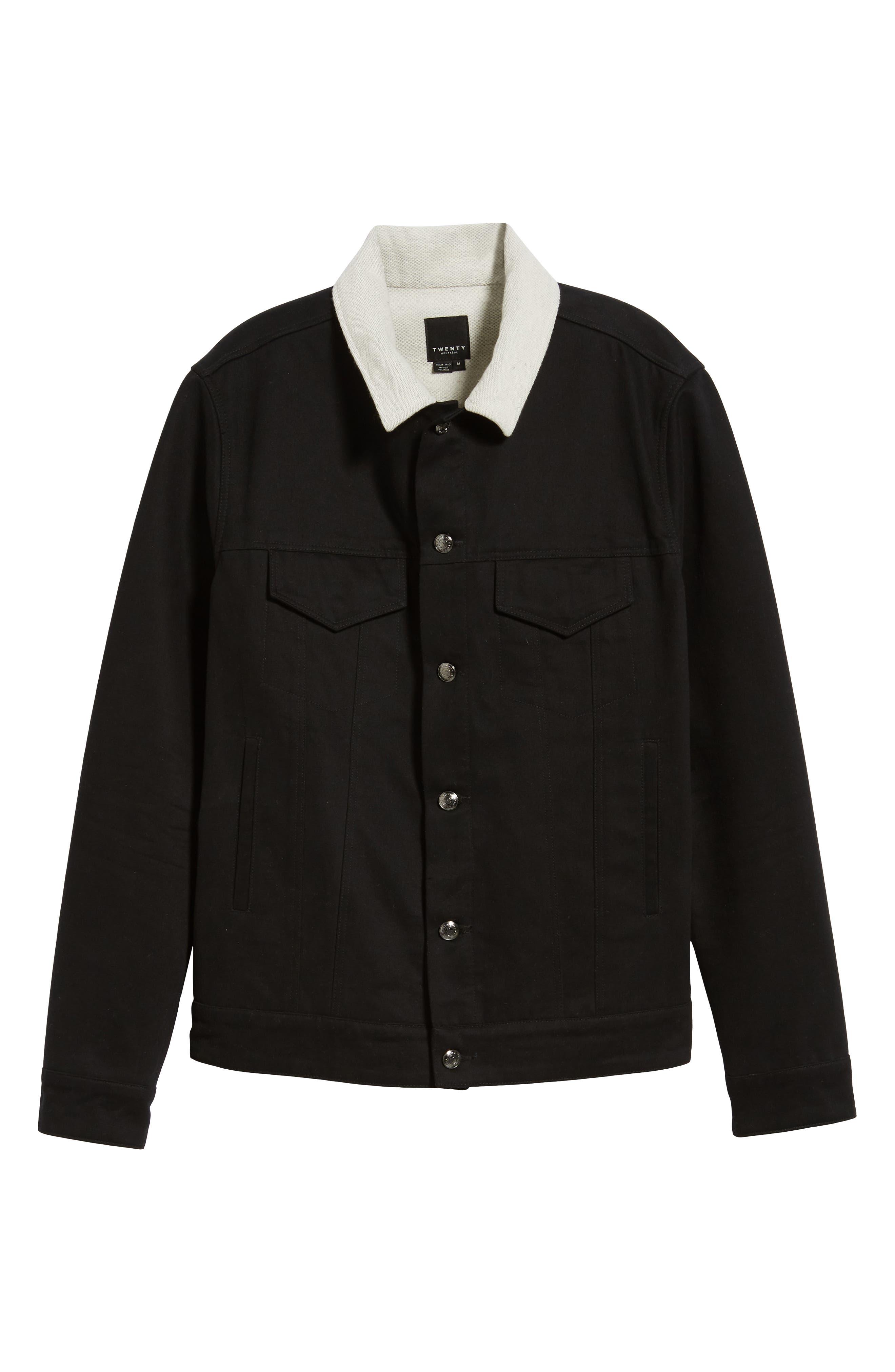 Webster Workman Jacket,                             Alternate thumbnail 6, color,                             BLACK