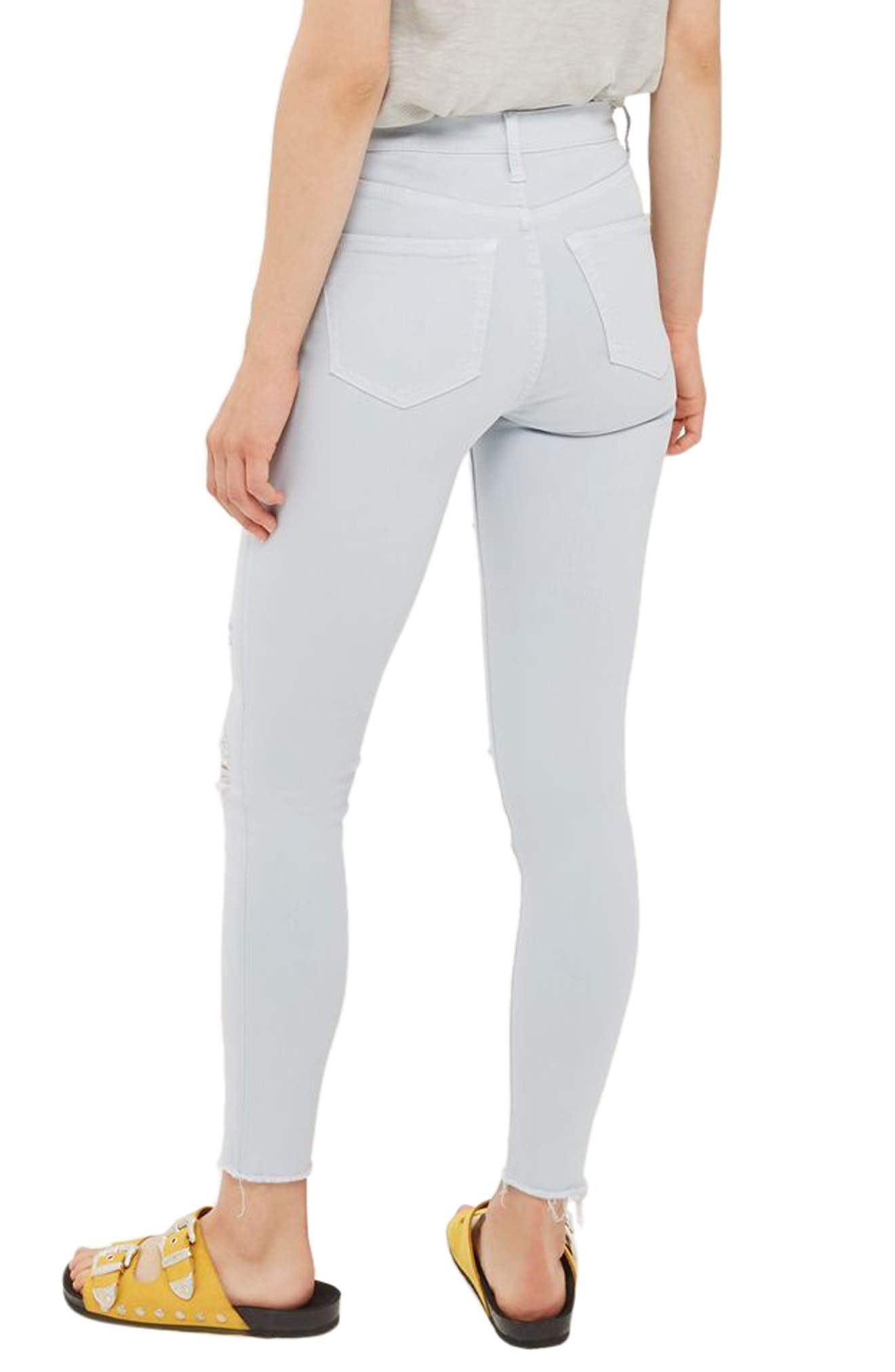Jamie Super Rip Raw Hem Skinny Jeans,                             Alternate thumbnail 2, color,                             450
