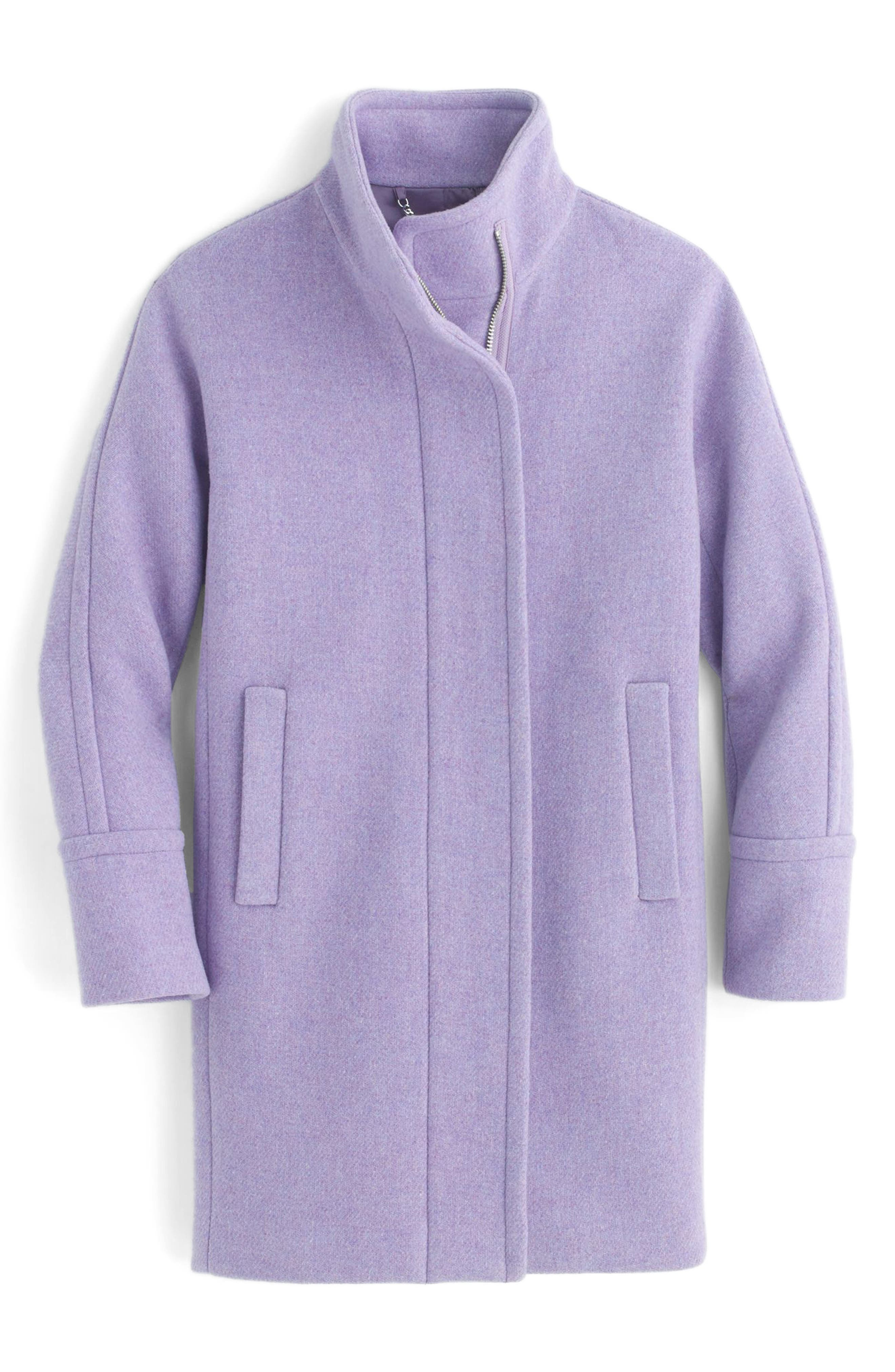 Stadium Cloth Cocoon Coat,                             Alternate thumbnail 47, color,