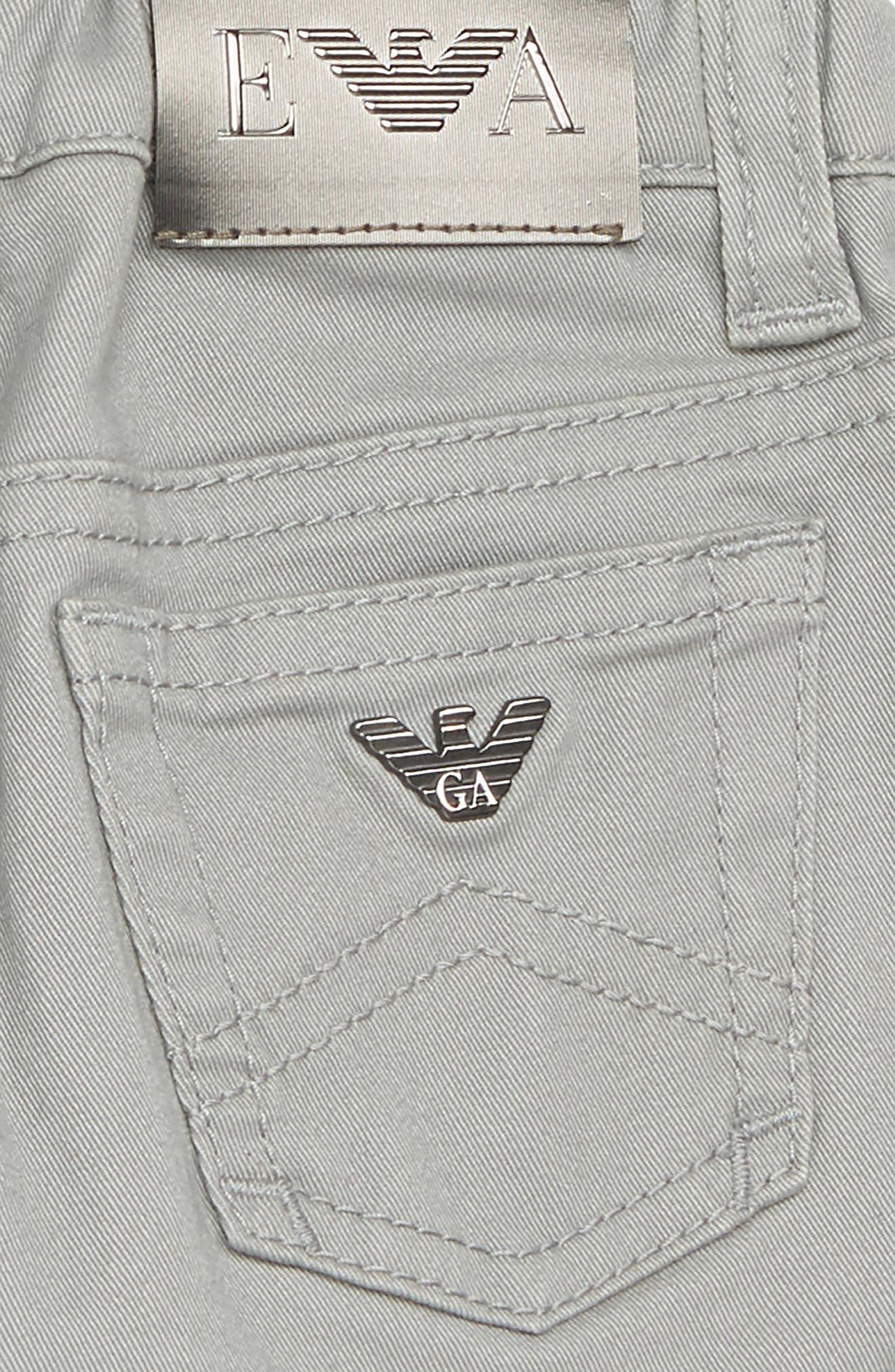 5-Pocket Jeans,                             Alternate thumbnail 3, color,                             SILVER