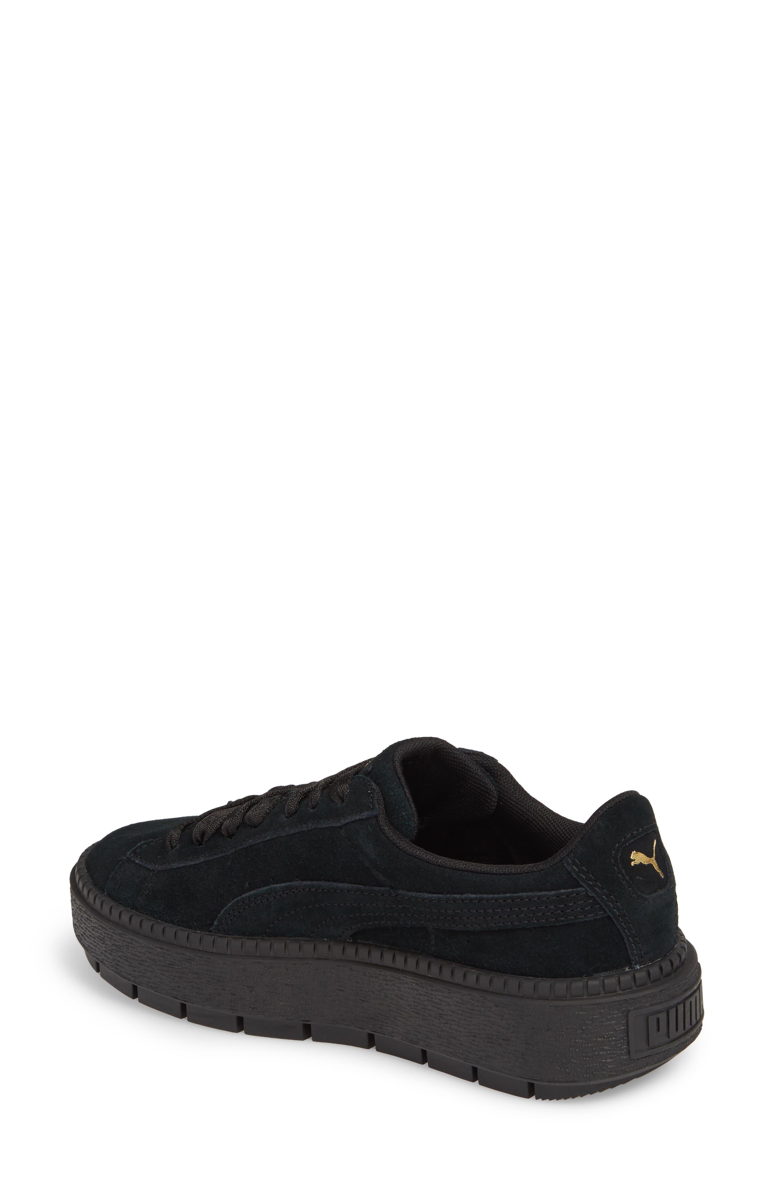 Trace Platform Sneaker,                             Alternate thumbnail 2, color,                             001