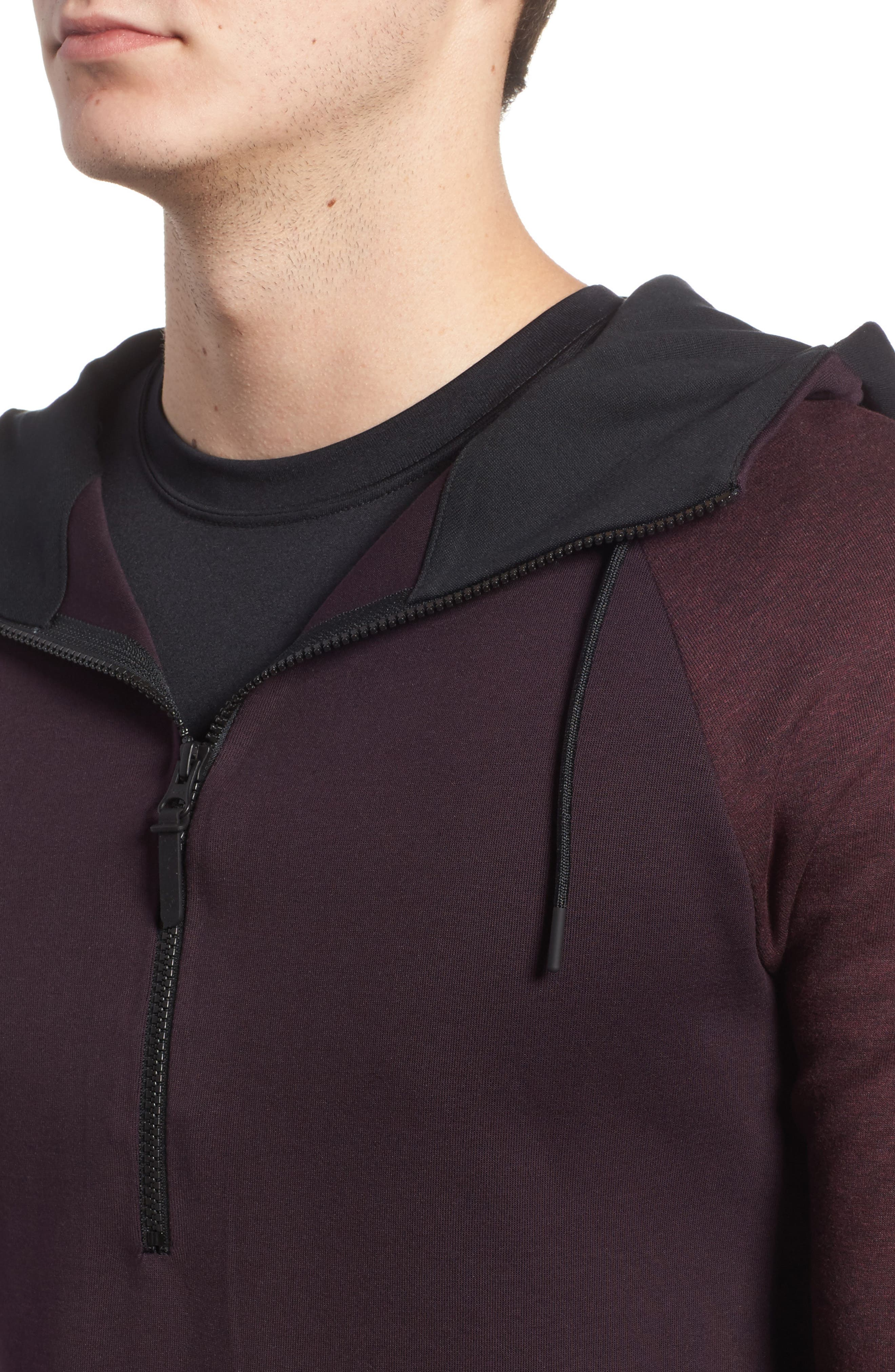 Half-Zip Pullover Hoodie,                             Alternate thumbnail 12, color,