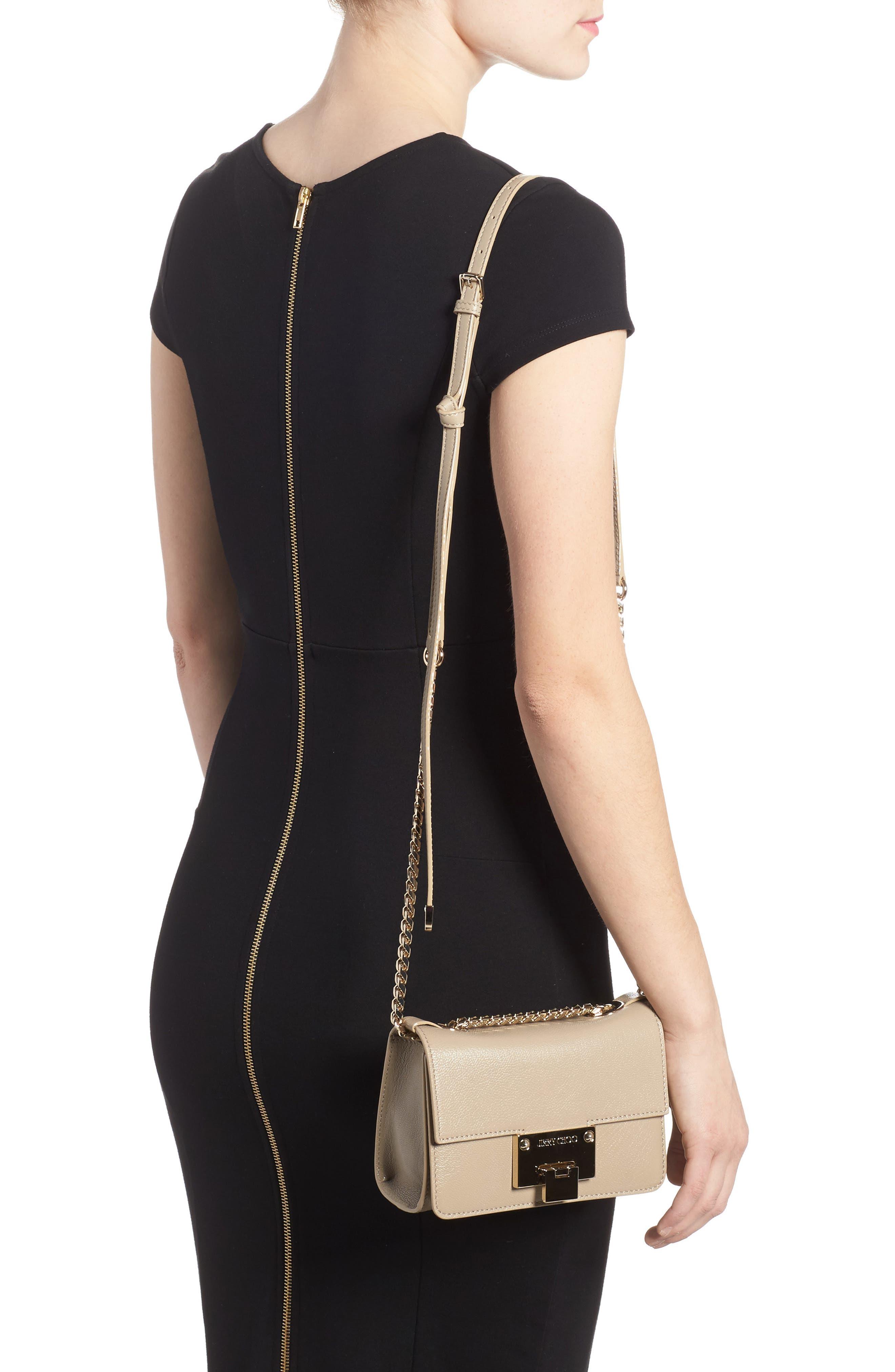 Mini Rebel Leather Crossbody Bag,                             Alternate thumbnail 2, color,                             201