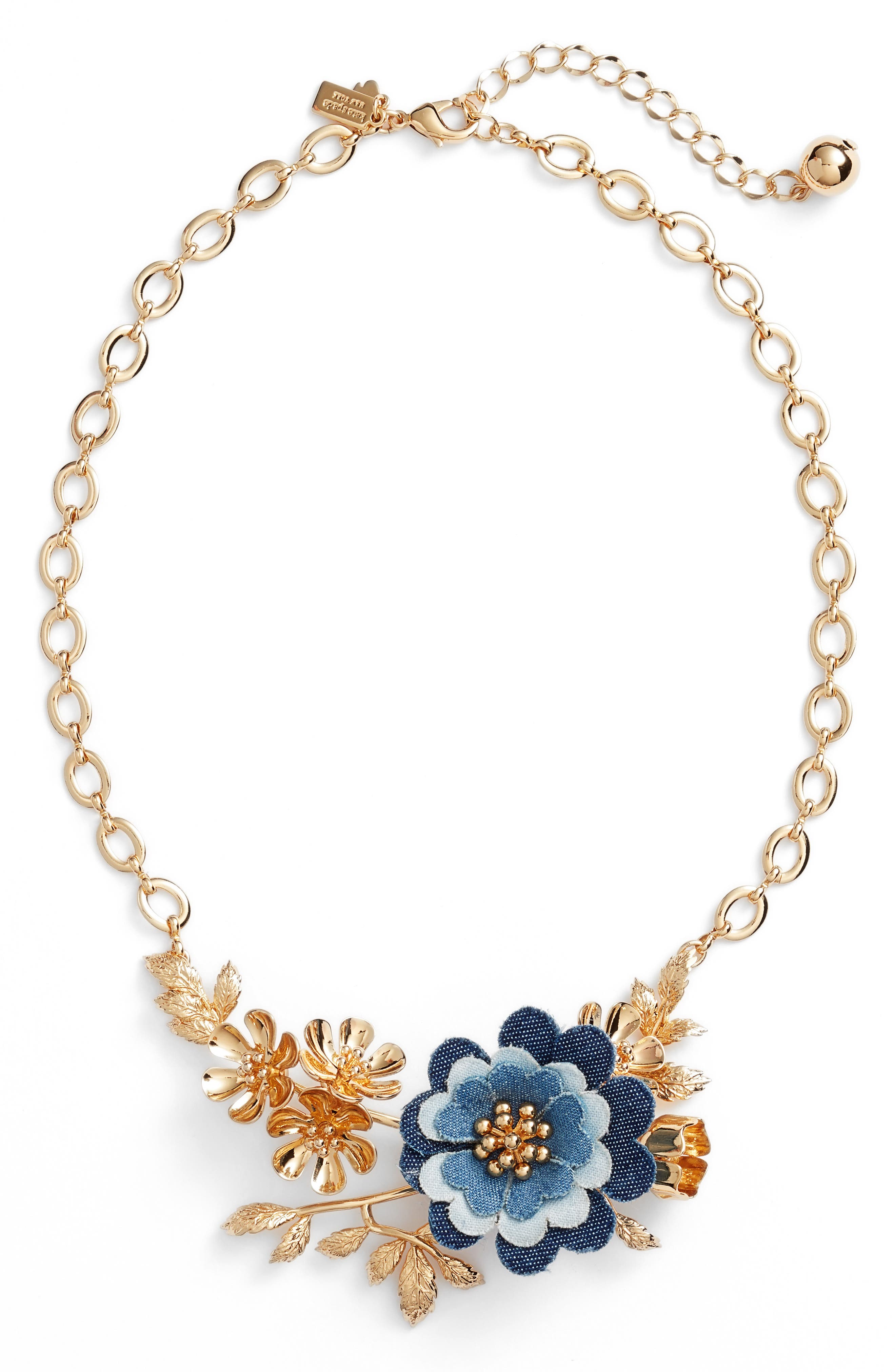flower child necklace,                             Main thumbnail 1, color,