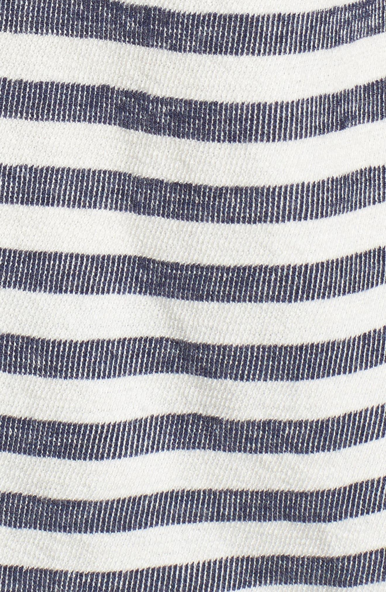 Solana Stripe Pocket Tee,                             Alternate thumbnail 5, color,