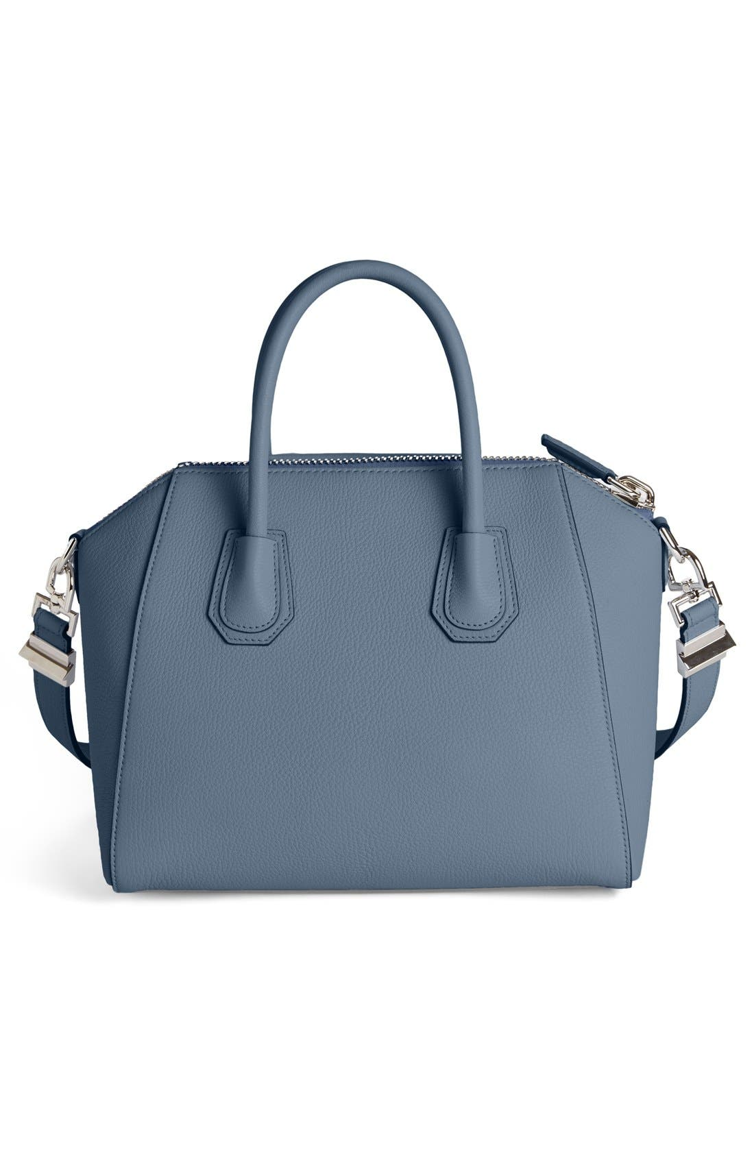 'Small Antigona' Sugar Leather Satchel,                             Alternate thumbnail 28, color,