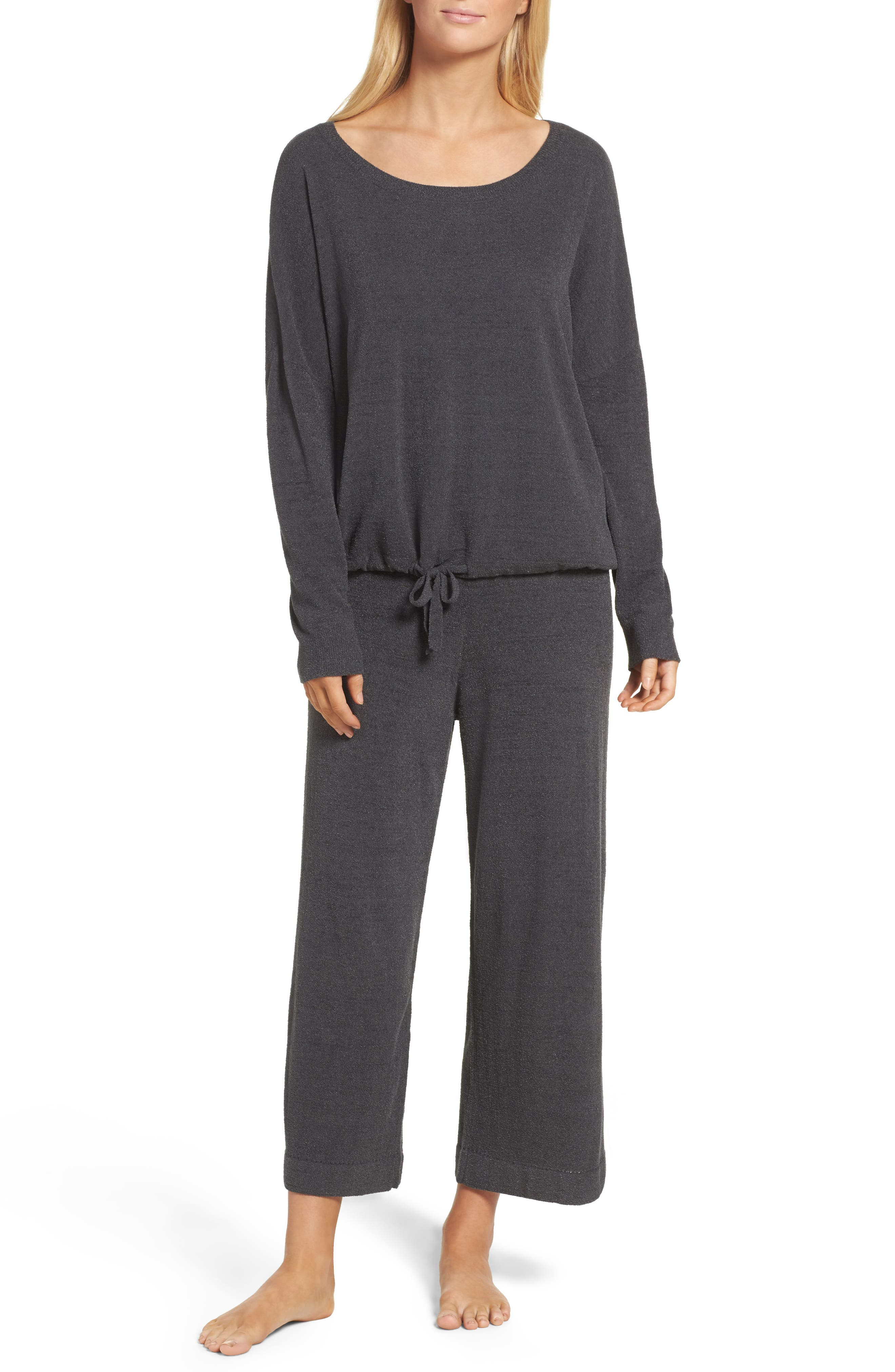 Cozychic Ultra Lite<sup>®</sup> Lounge Pullover,                             Alternate thumbnail 6, color,                             CARBON
