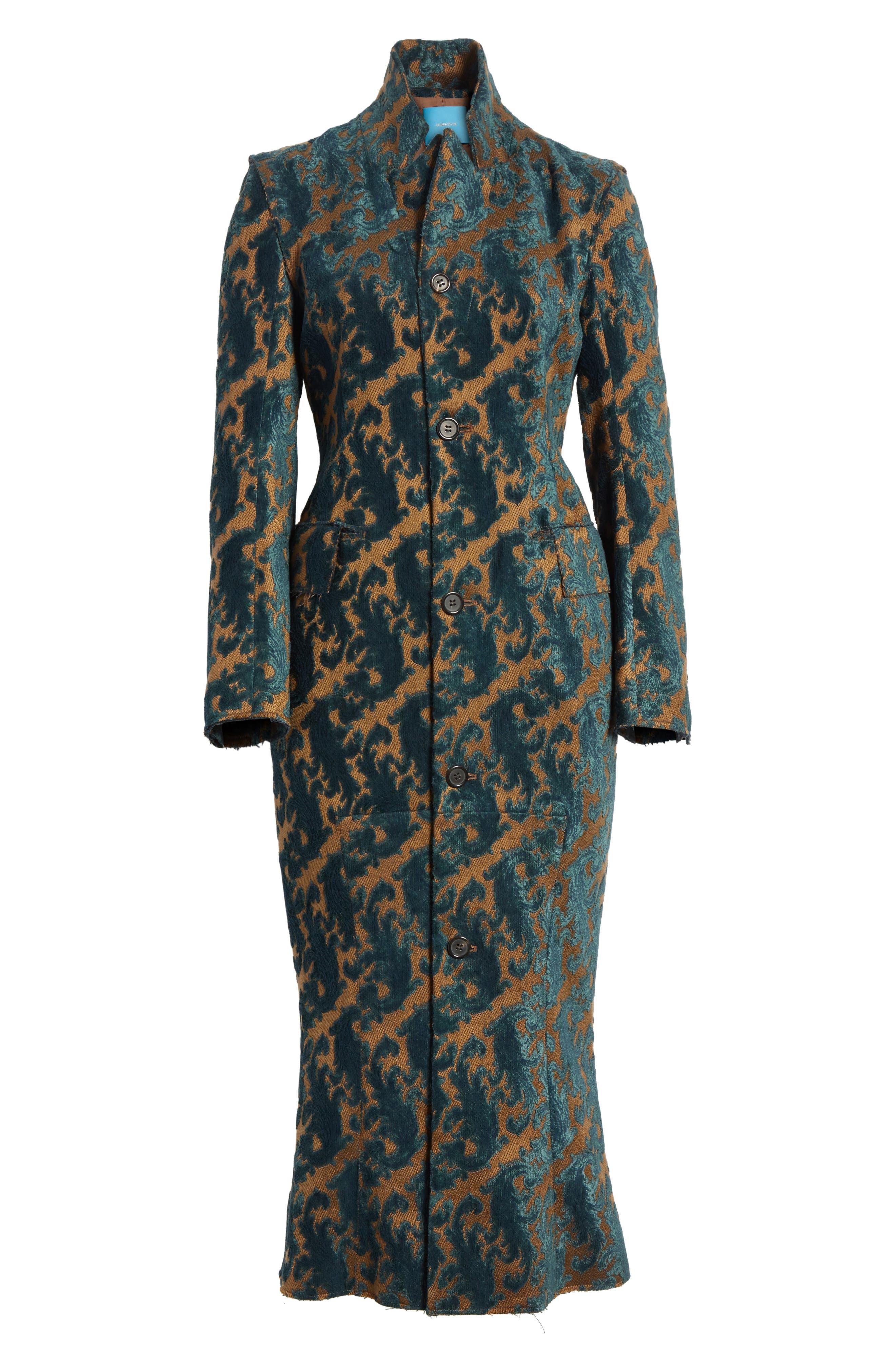 Detachable Sleeve Coat Dress,                             Alternate thumbnail 5, color,                             960