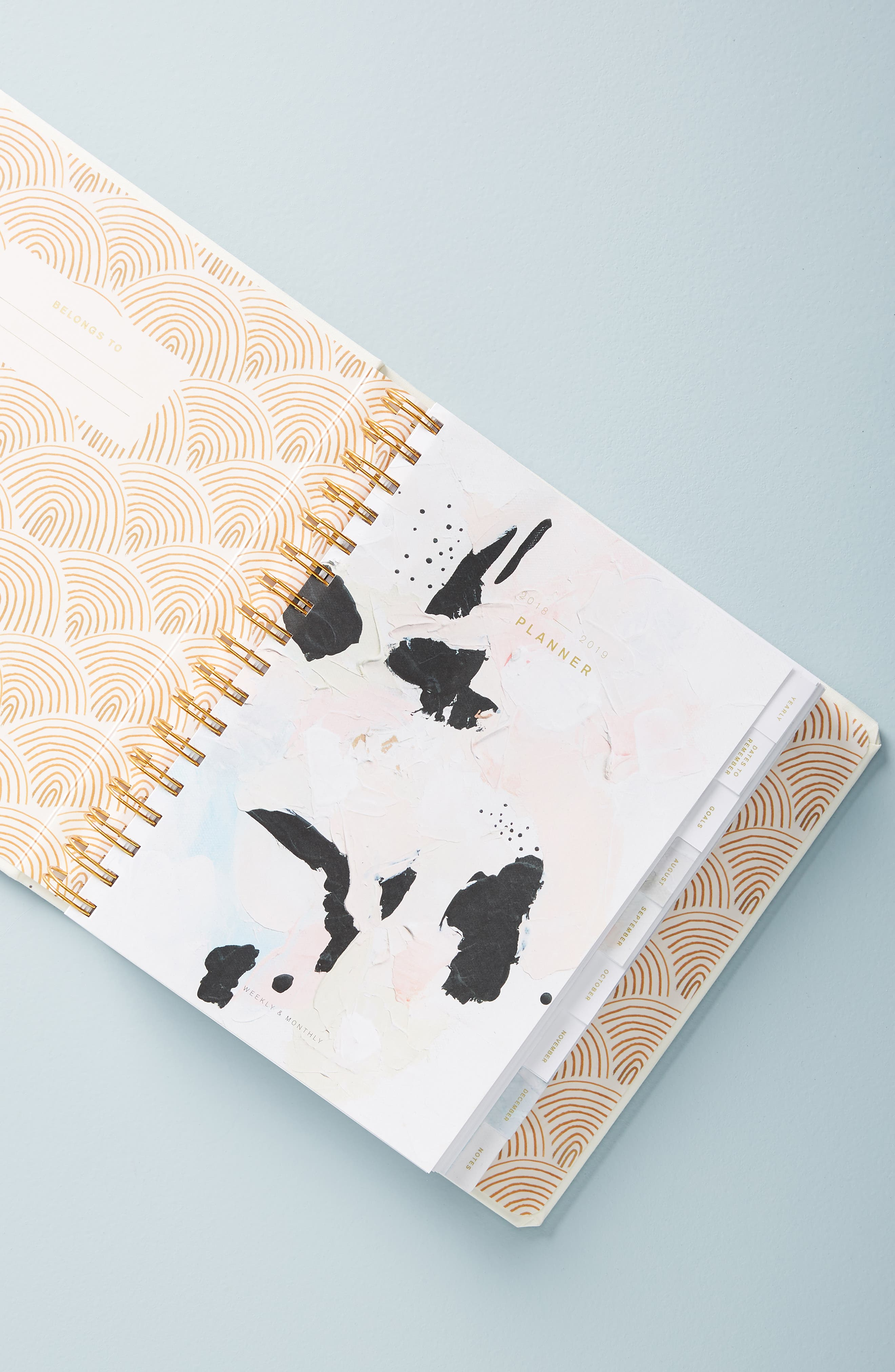 Ashley Mary 17-Month Hardcover Planner,                             Alternate thumbnail 7, color,                             MULTI