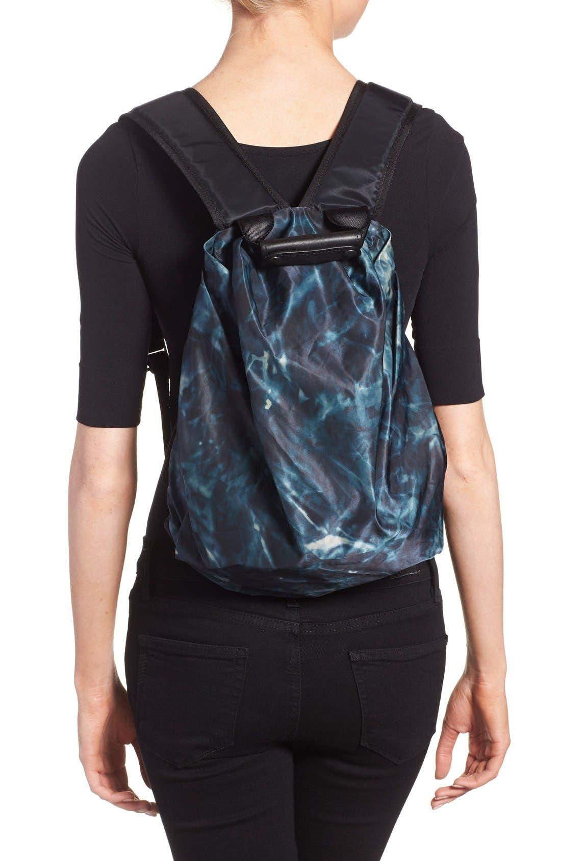 'Tuck' Nylon Backpack,                             Alternate thumbnail 4, color,                             410