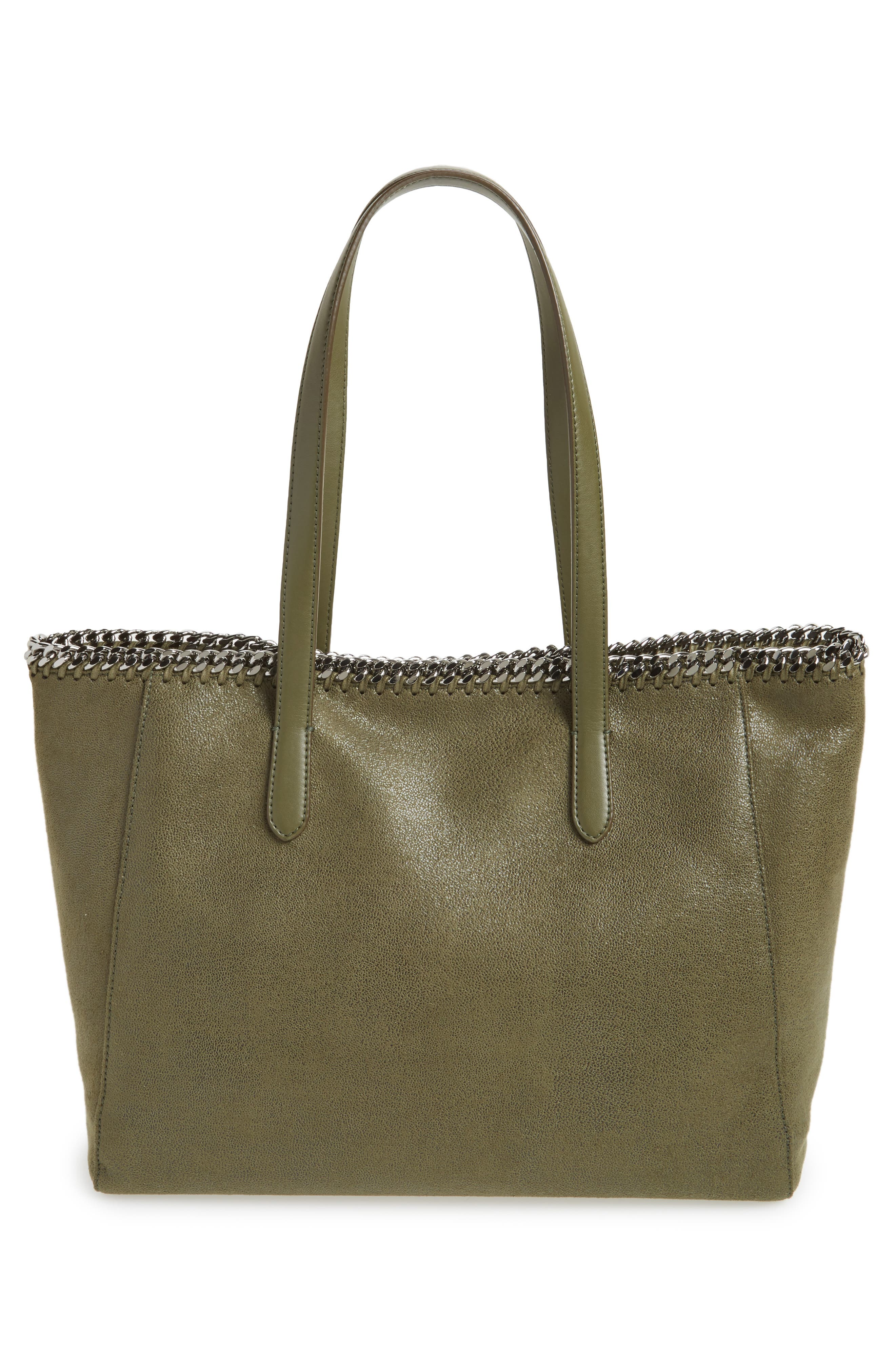 'Falabella - Shaggy Deer' Faux Leather Tote,                             Alternate thumbnail 12, color,