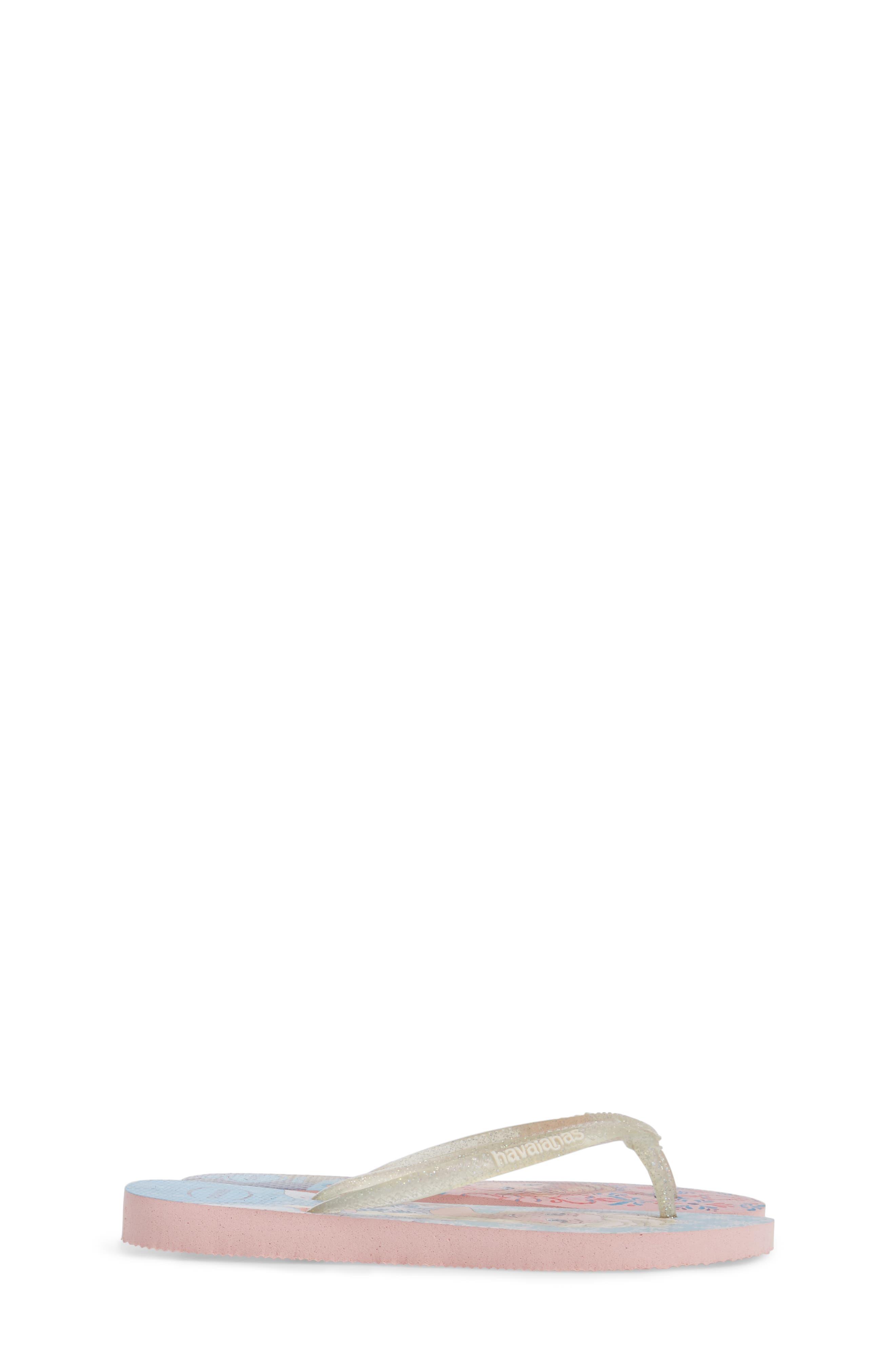 Slim Frozen Flip Flop,                             Alternate thumbnail 4, color,                             100