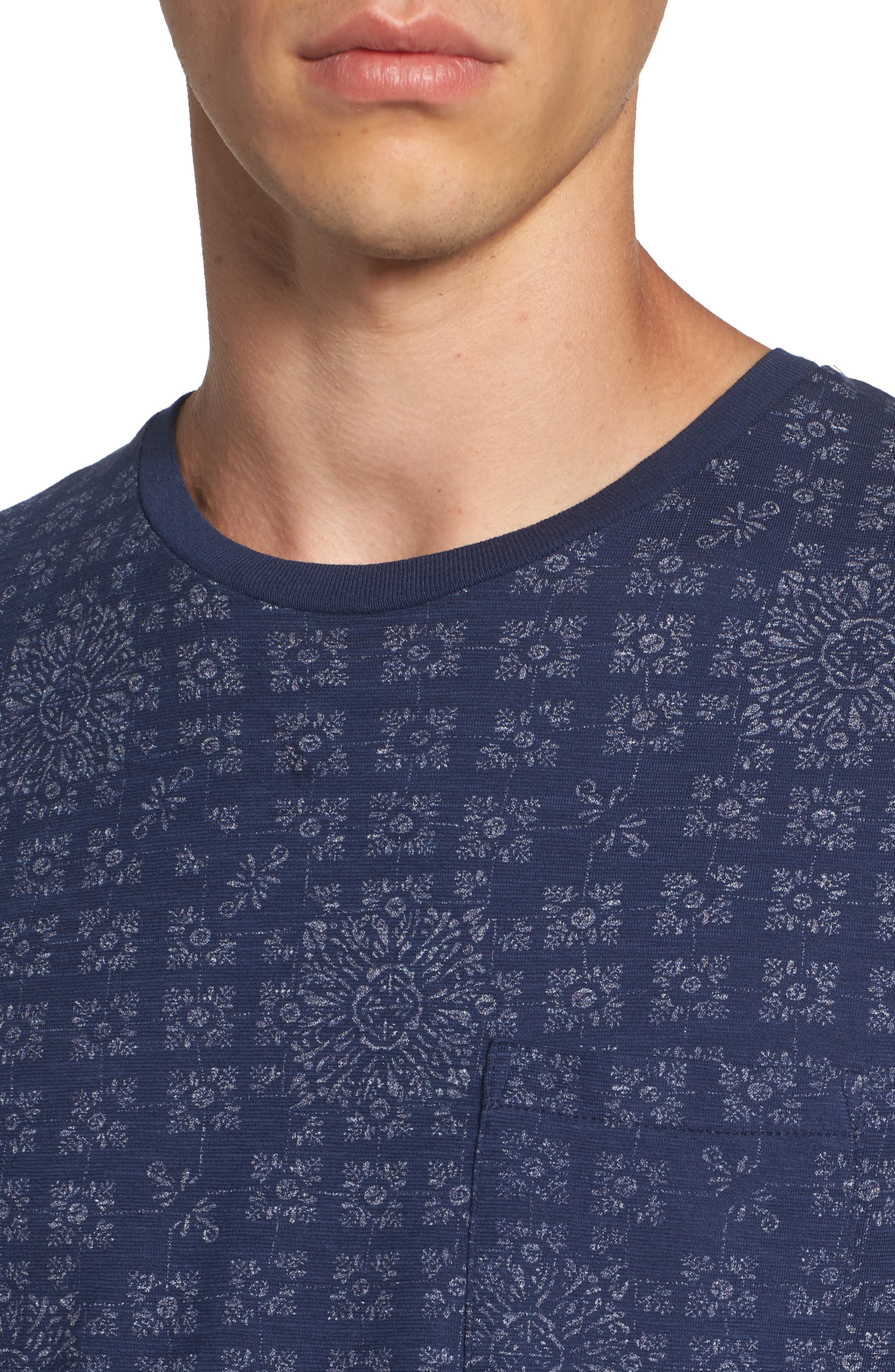 AMS Graphic T-Shirt,                             Alternate thumbnail 4, color,                             410