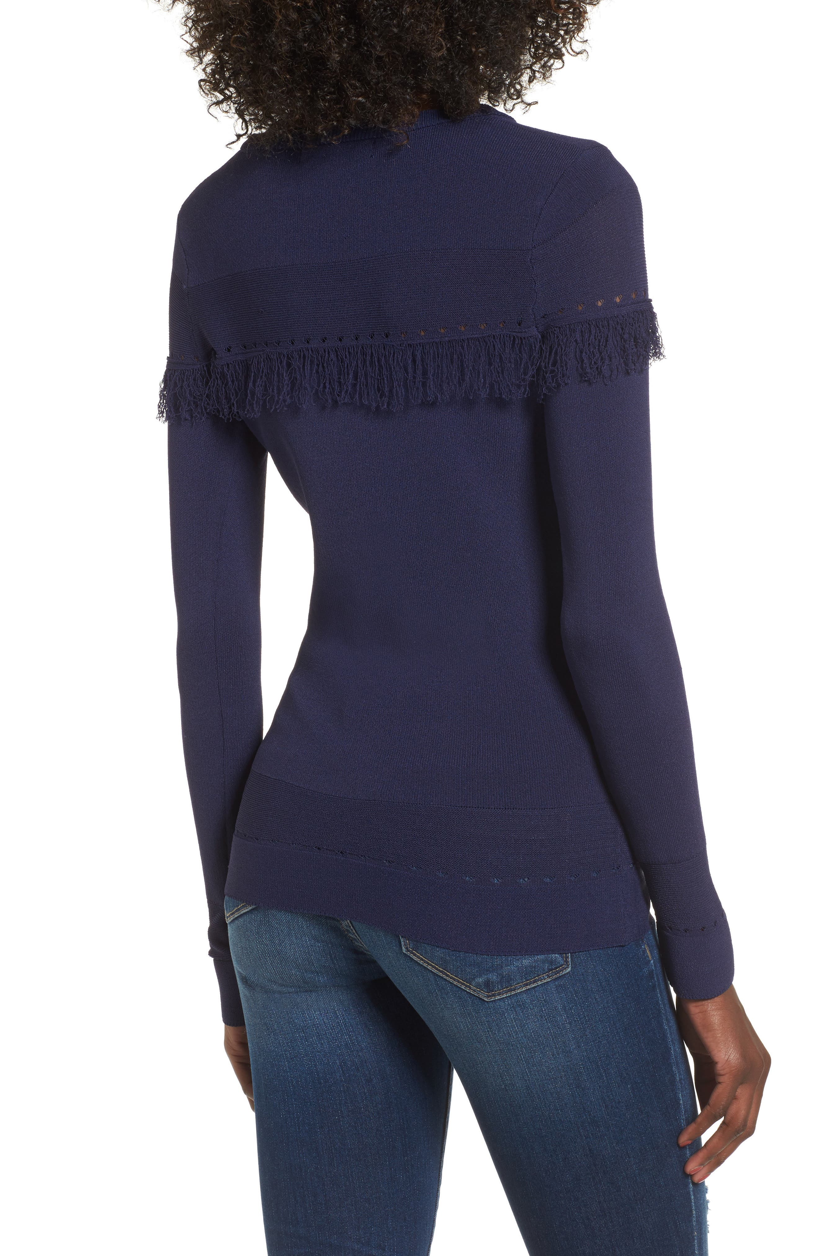 Kash Fringed Top,                             Alternate thumbnail 2, color,                             400