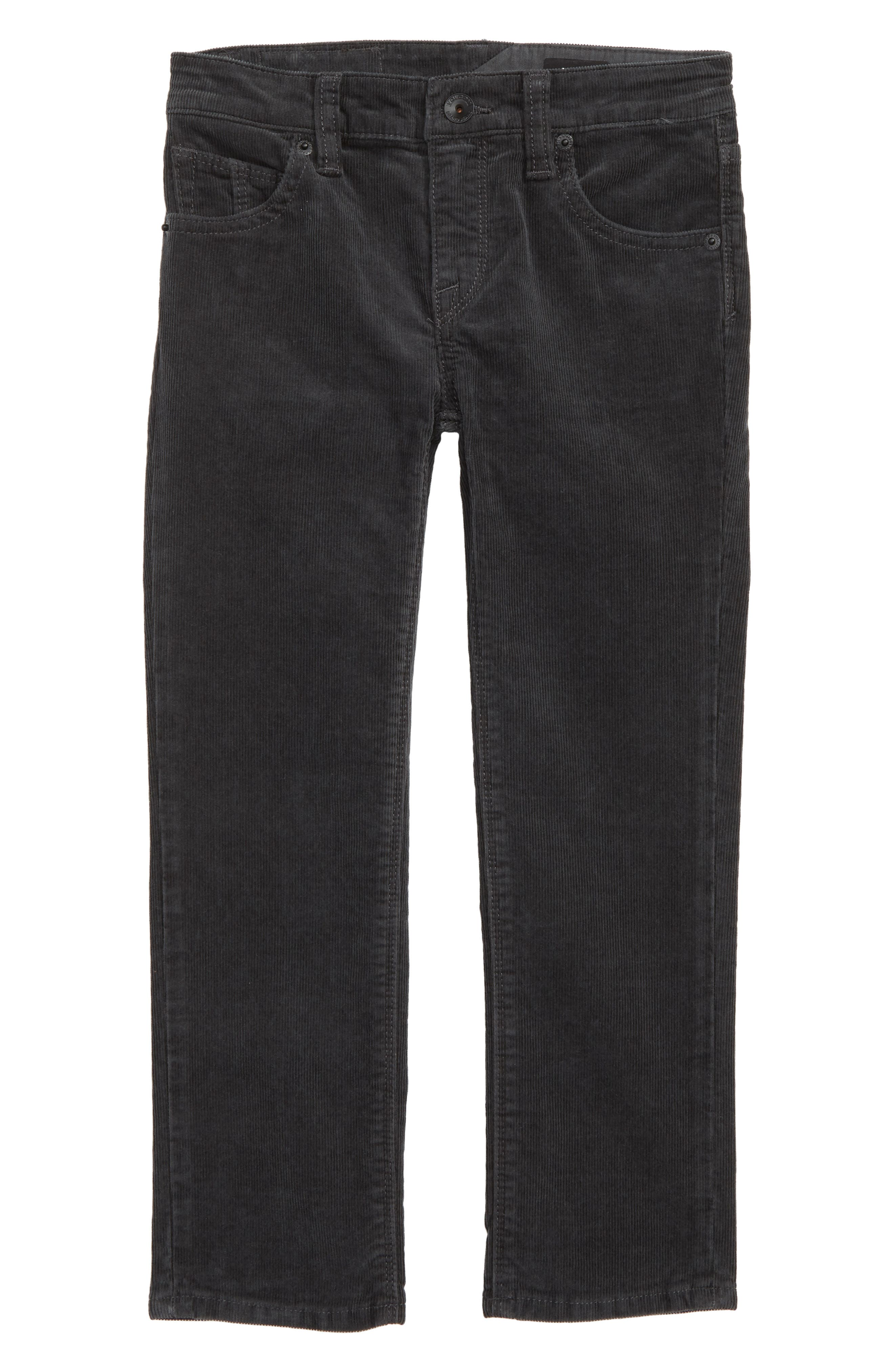 Vorta Slim Fit Corduroy Jeans,                             Main thumbnail 1, color,                             STEALTH
