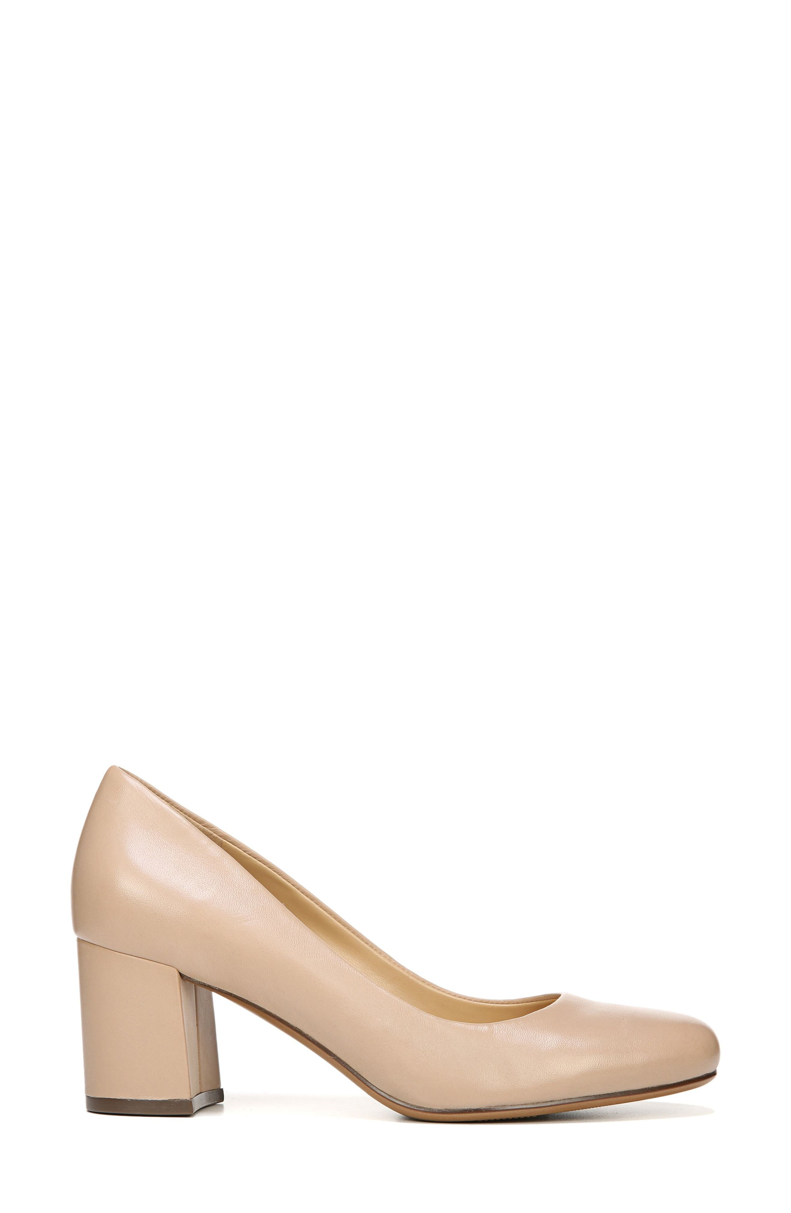 Whitney Pump,                             Alternate thumbnail 3, color,                             TENDER TAUPE LEATHER
