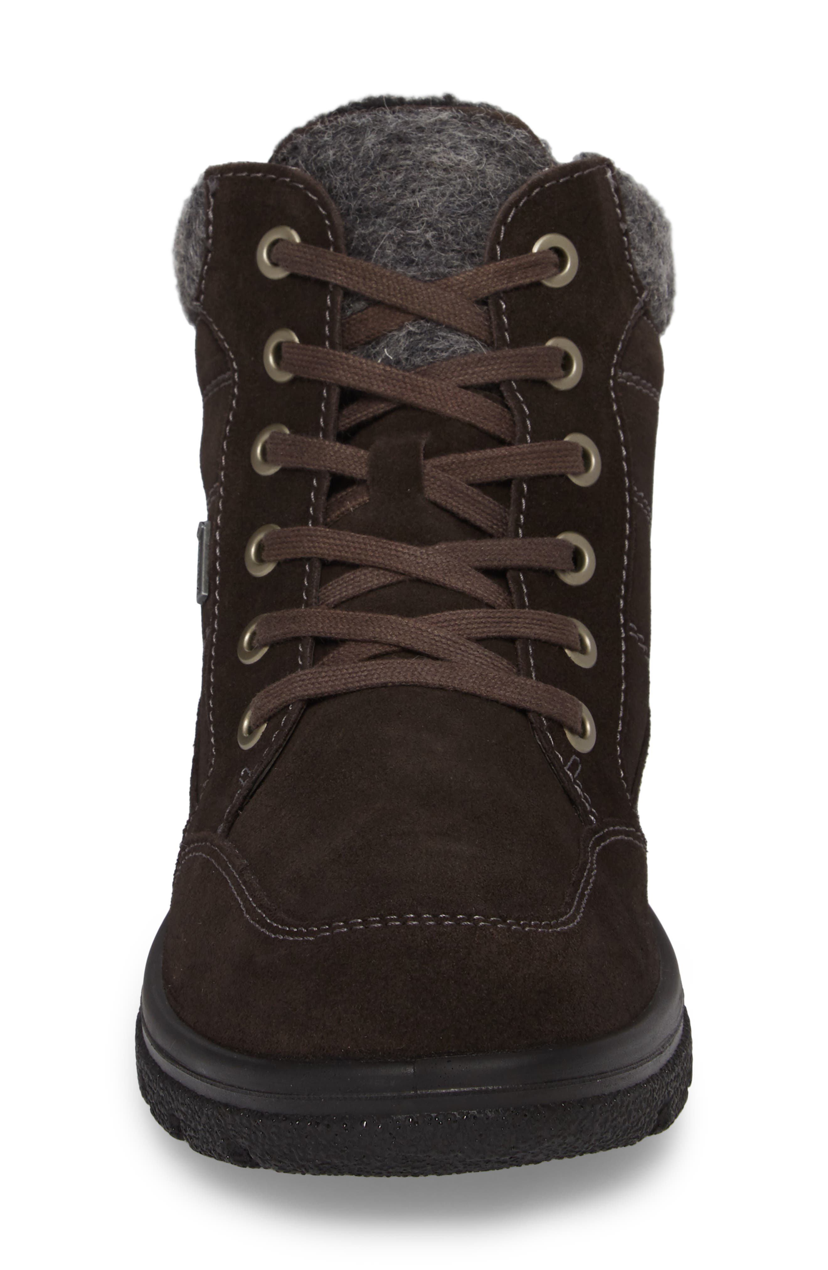 Waterproof Gore-Tex<sup>®</sup> Hiking Boot,                             Alternate thumbnail 4, color,                             LAVA SUEDE