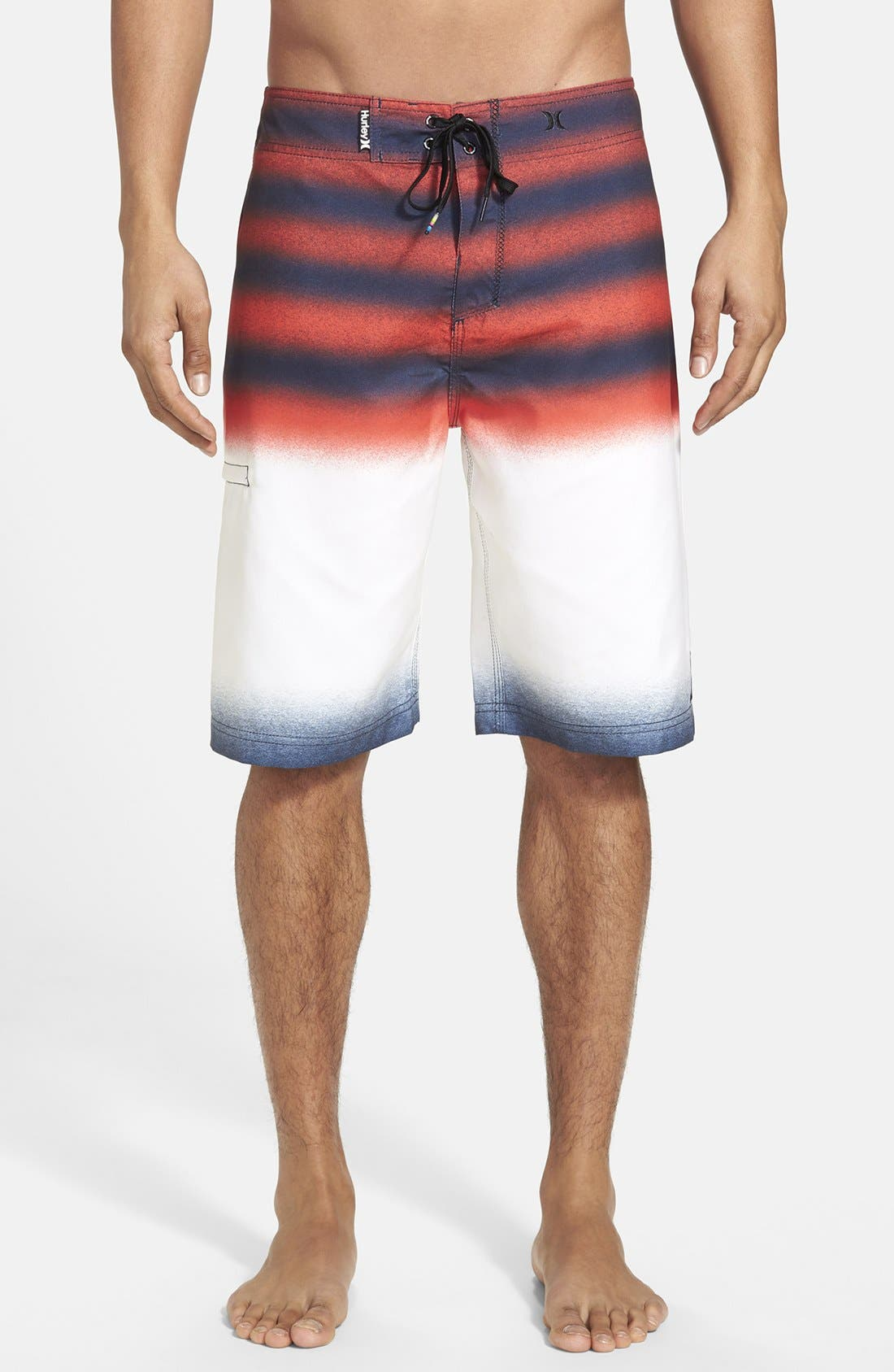 'Raglan Destroy' Board Shorts,                             Main thumbnail 1, color,                             410