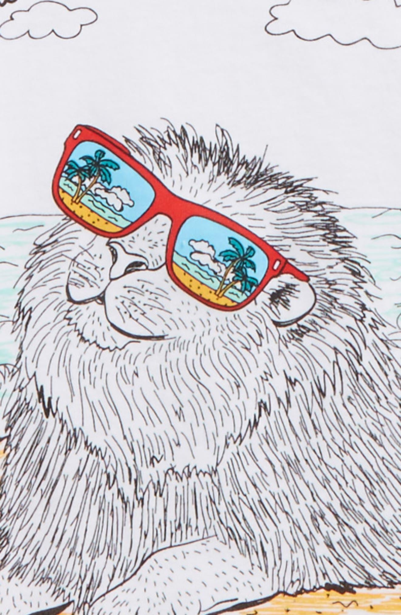 Sea Lion Graphic T-Shirt,                             Alternate thumbnail 2, color,