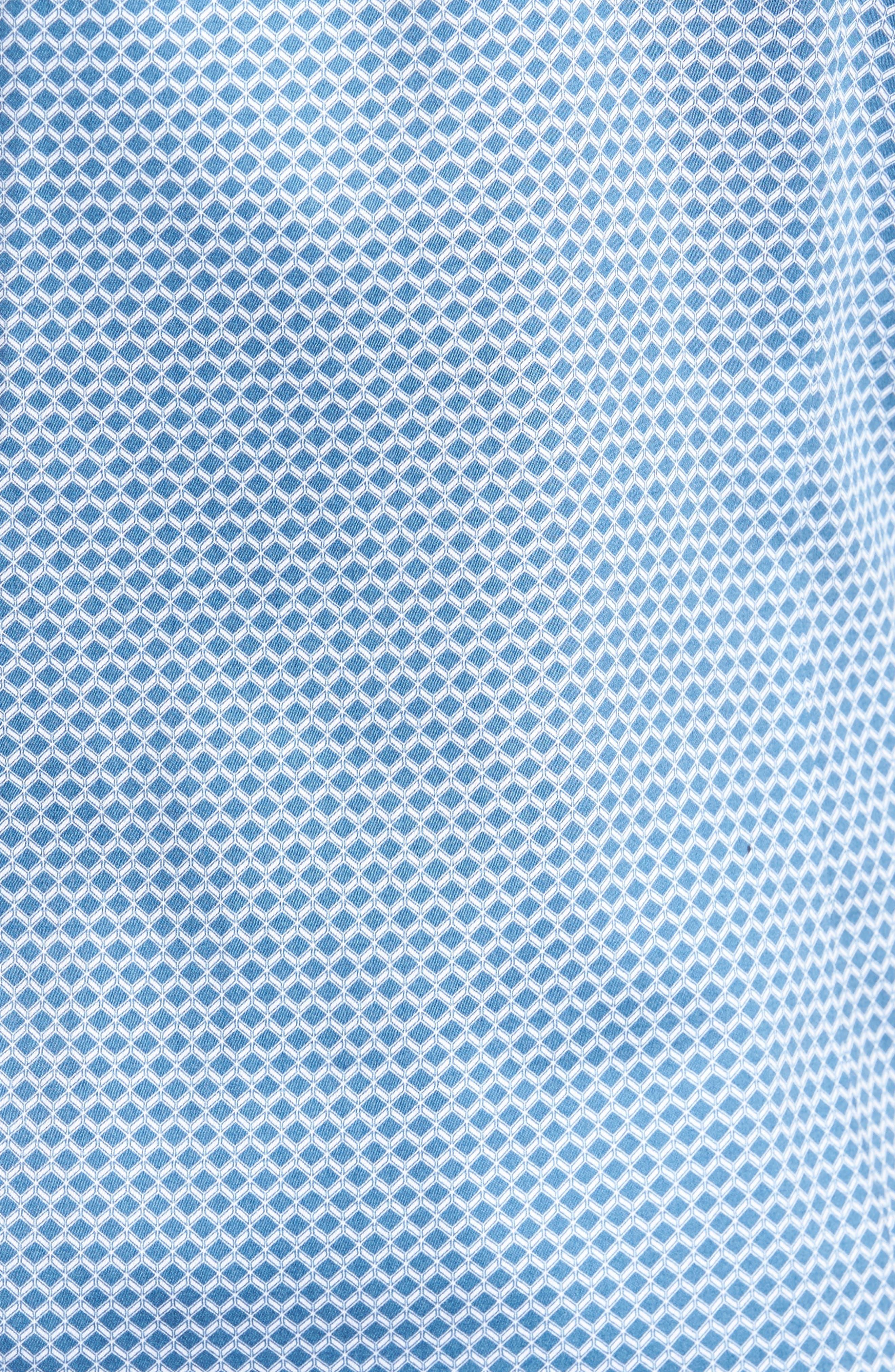 Gudvutt Short Sleeve Sport Shirt,                             Alternate thumbnail 5, color,                             400