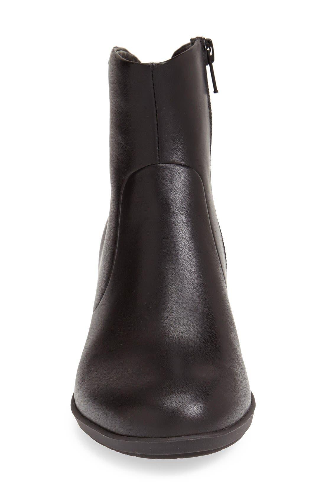 'Agatha' Ankle Boot,                             Alternate thumbnail 4, color,                             001