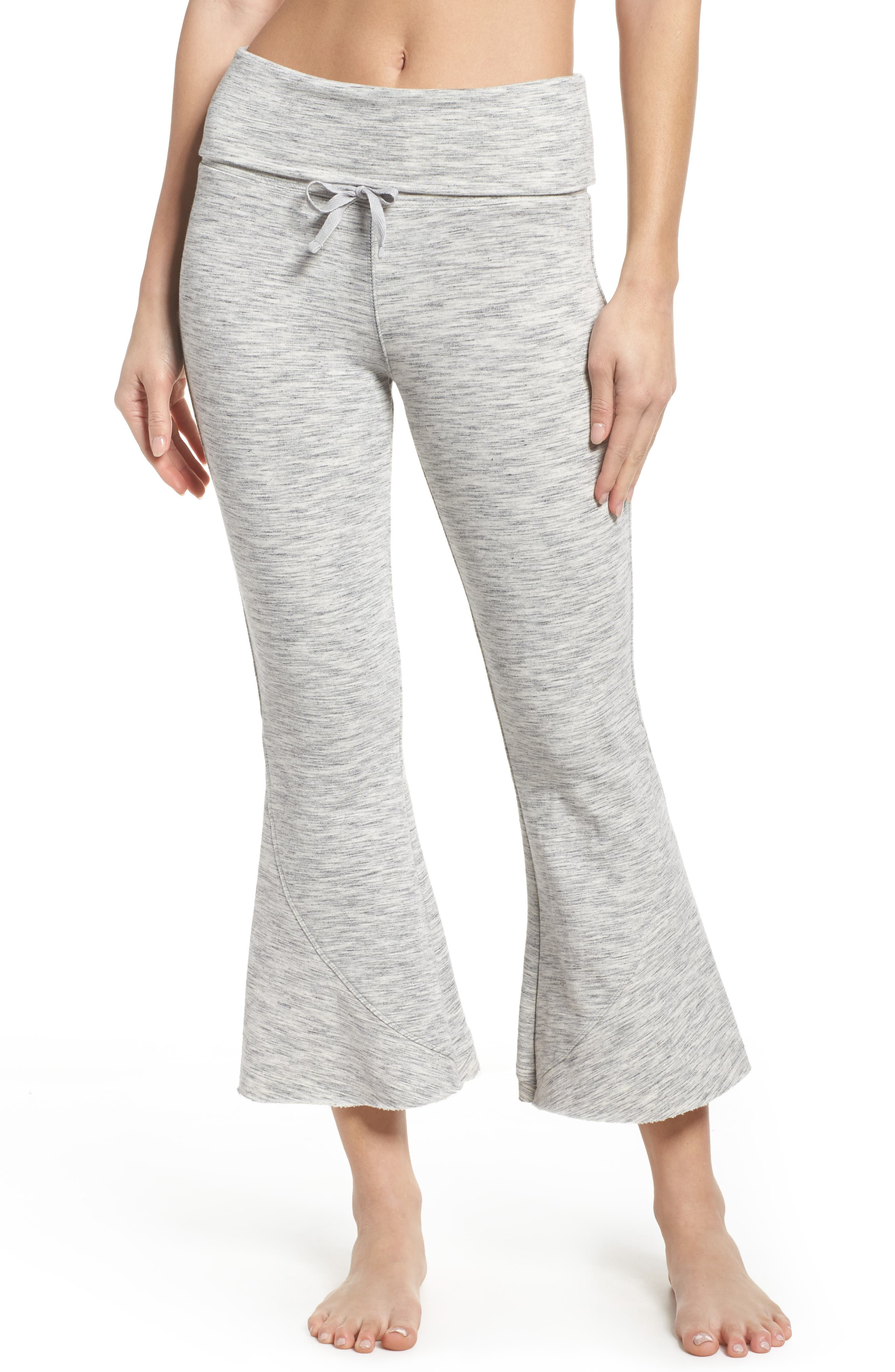 FP Movement Nico Crop Flare Sweatpants,                             Main thumbnail 1, color,                             025