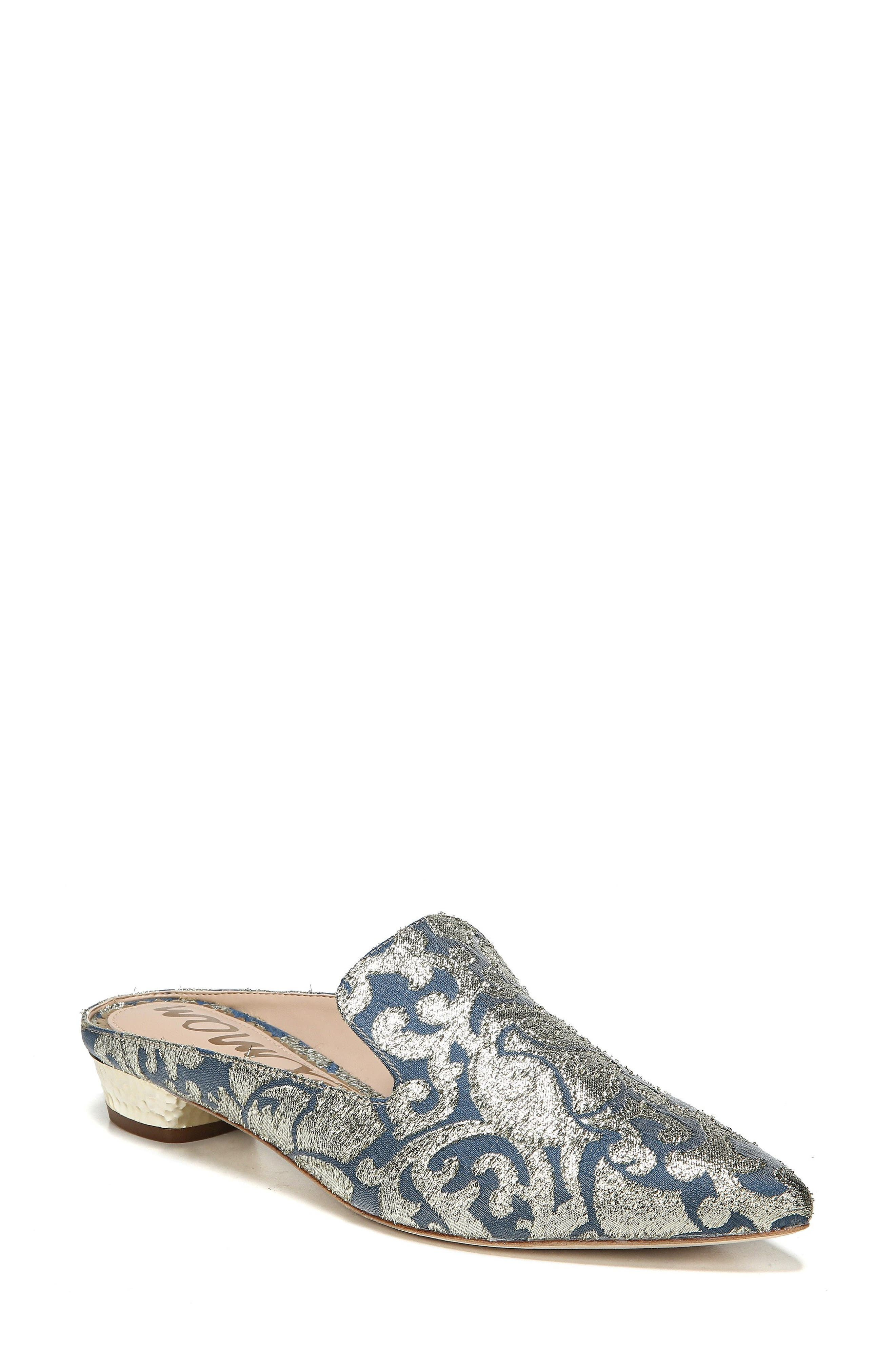 Augustine Patterned Loafer Mule,                             Main thumbnail 3, color,
