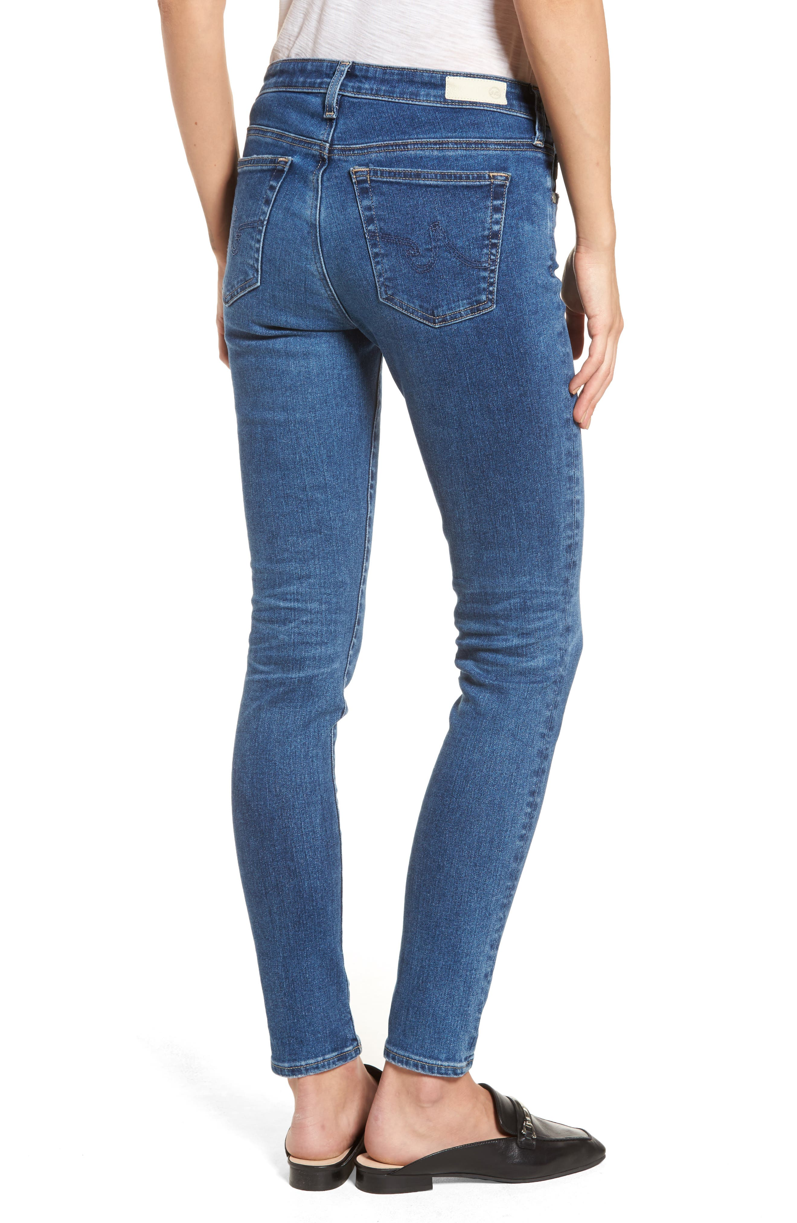 The Legging Ankle Super Skinny Jeans,                             Alternate thumbnail 20, color,