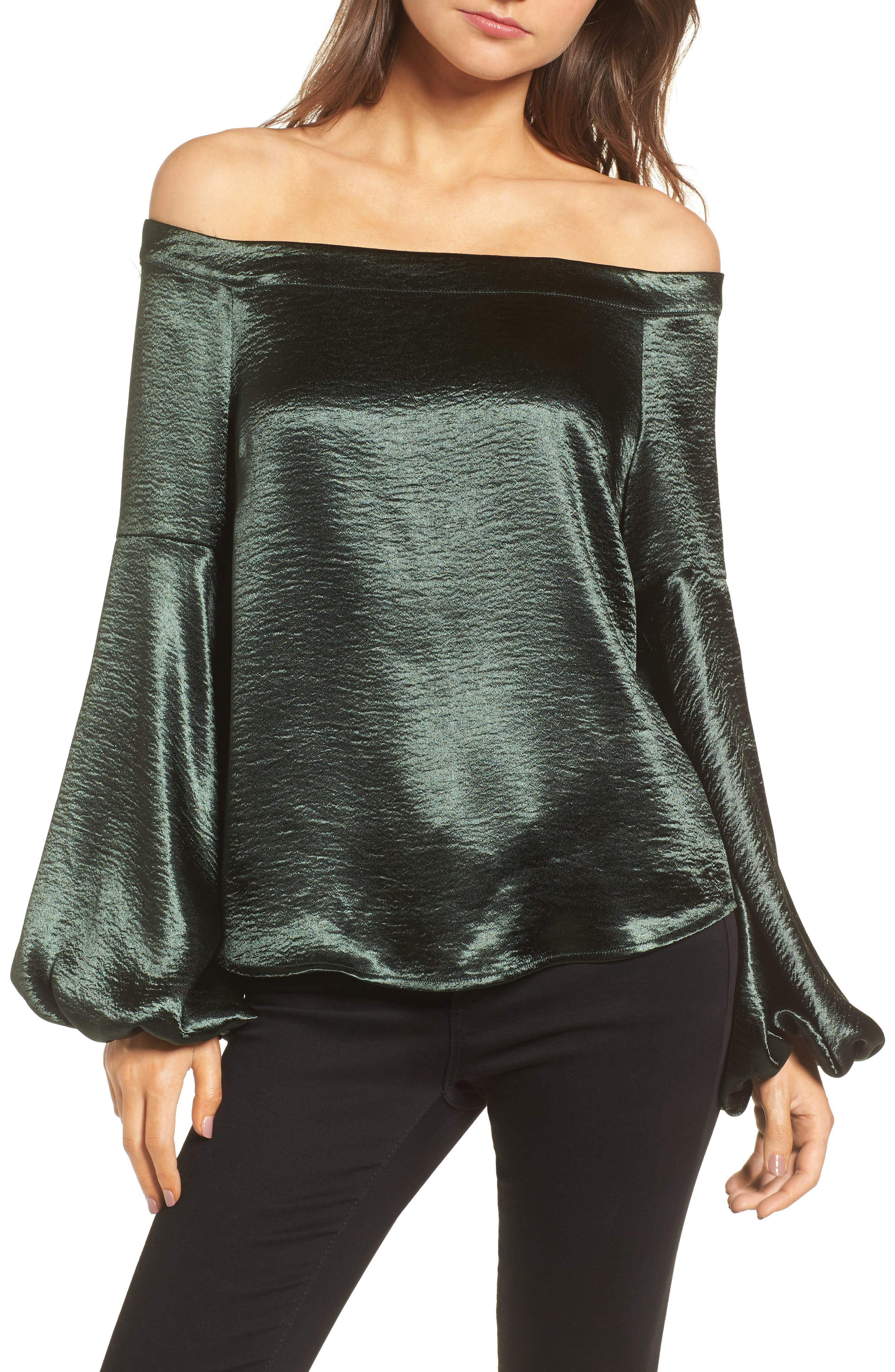 Jameson Off the Shoulder Top,                         Main,                         color, 300