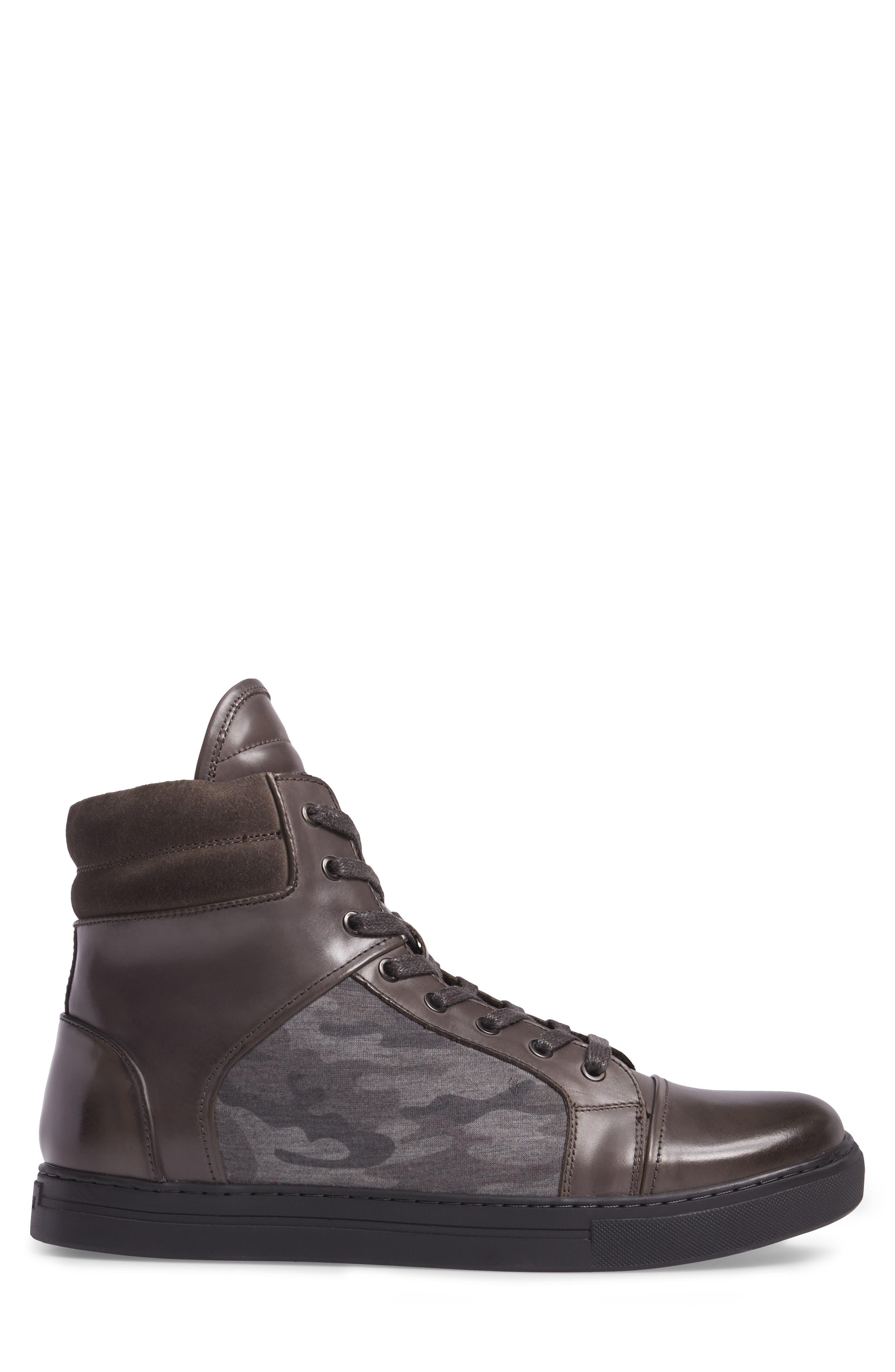 Double Header Sneaker,                             Alternate thumbnail 3, color,                             020