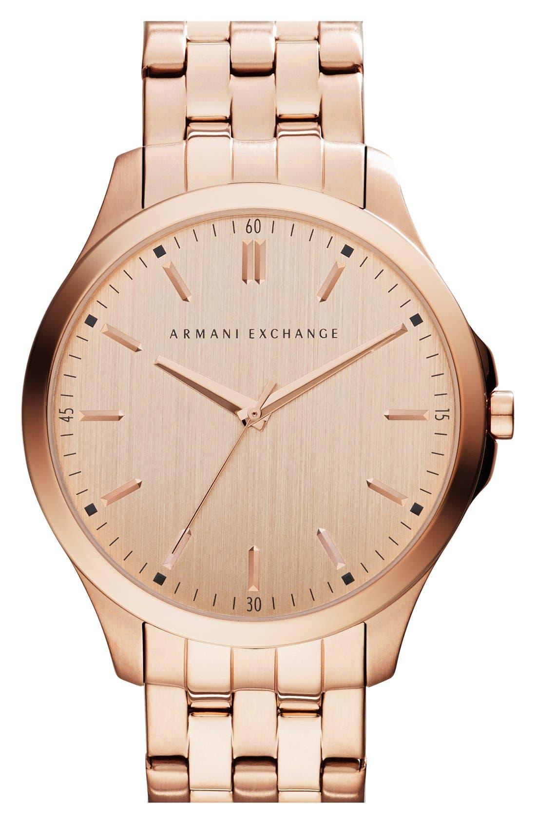 Round Bracelet Watch, 45mm,                             Main thumbnail 6, color,