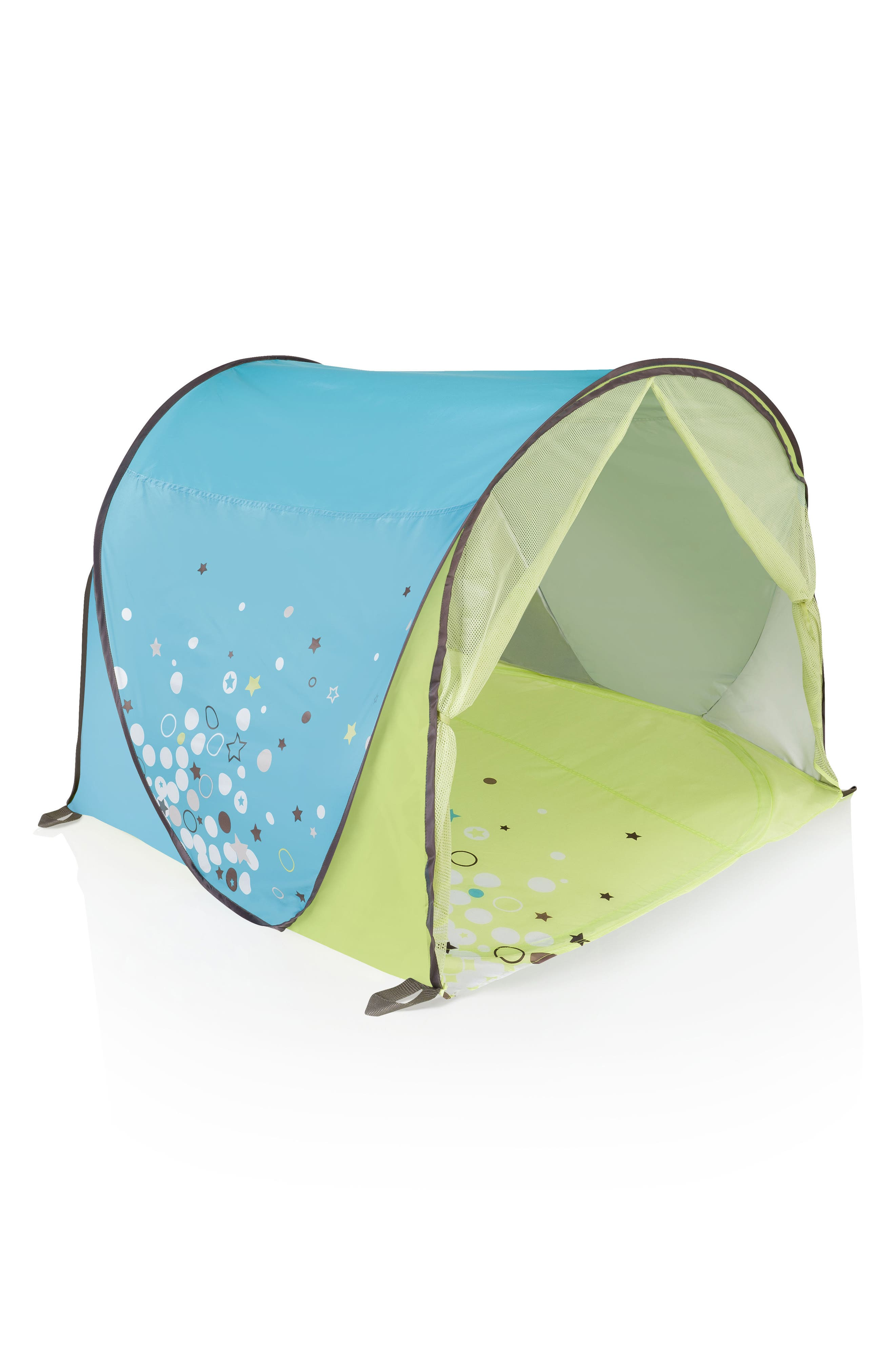 Anti UV Tent,                         Main,                         color, BLUE GREEN