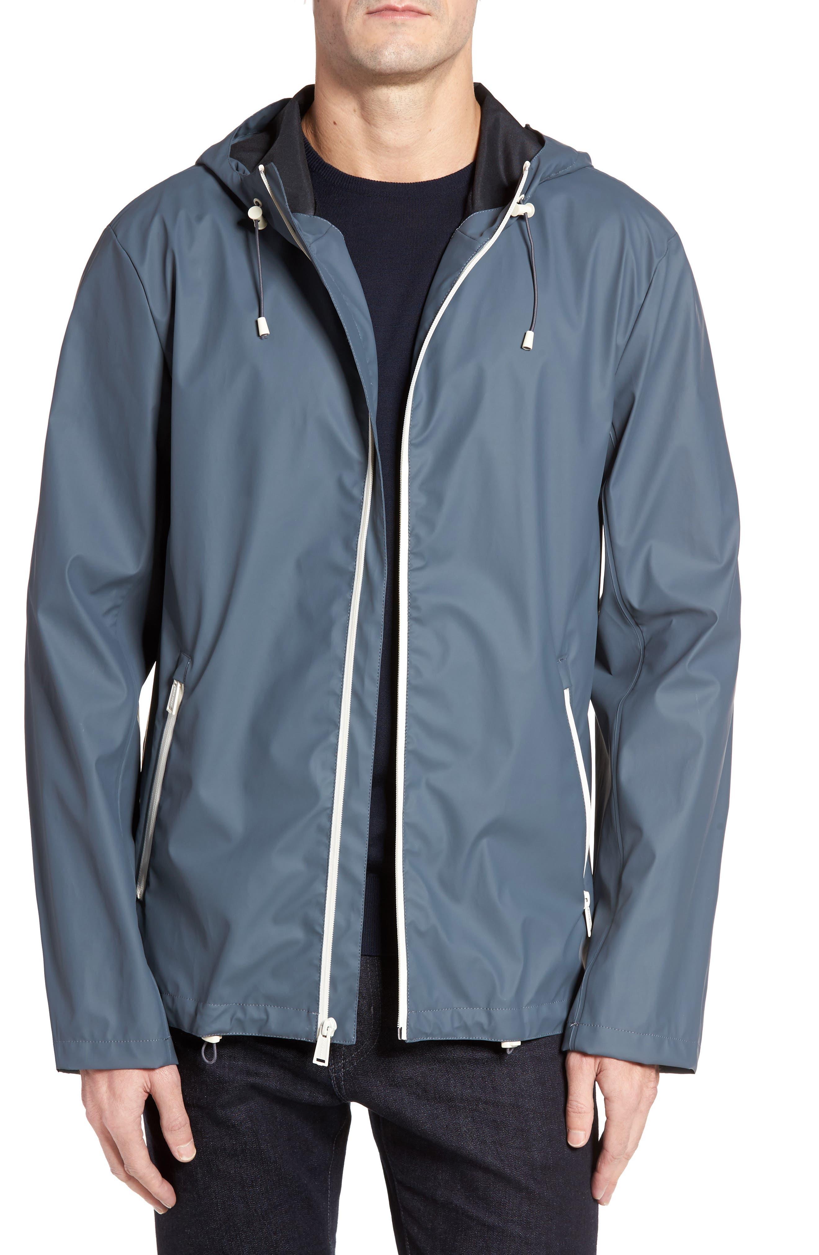 Rubberized Hooded Jacket,                             Main thumbnail 2, color,