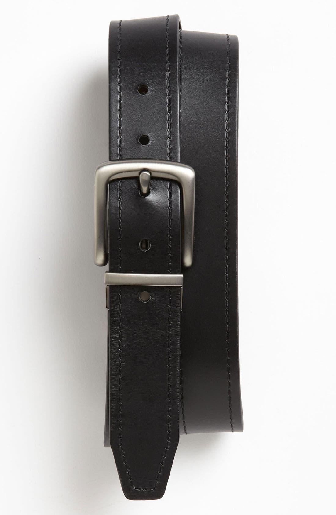 'Parker' Twist Reversible Leather Belt,                             Alternate thumbnail 2, color,                             200